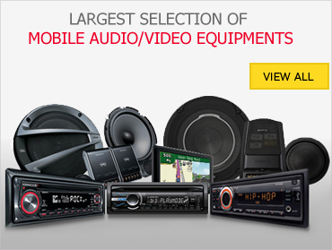 latest selection of mobile audio video equipments