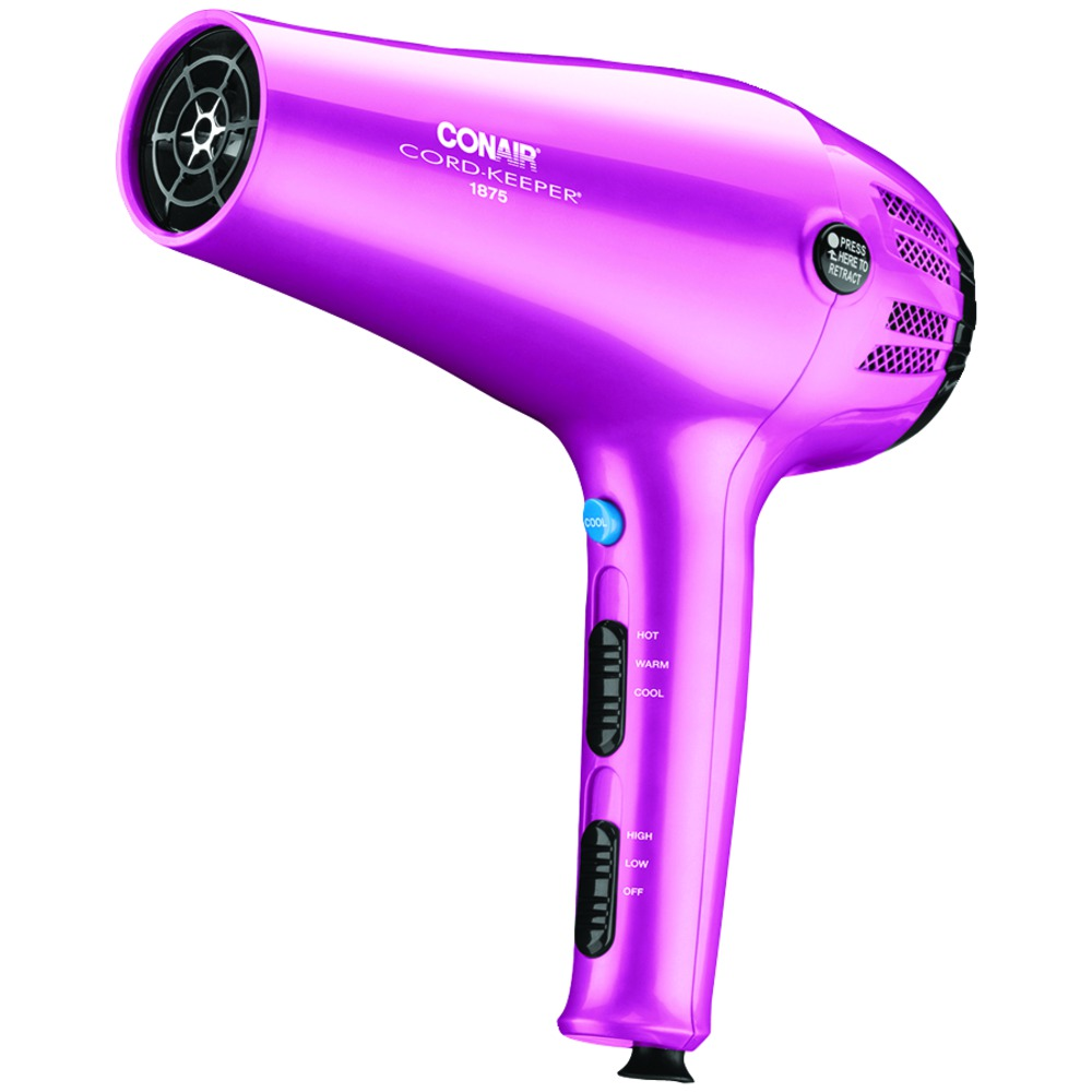 hair dryer styling conair 209nx 1 875 watt cord keeper r styler 7079