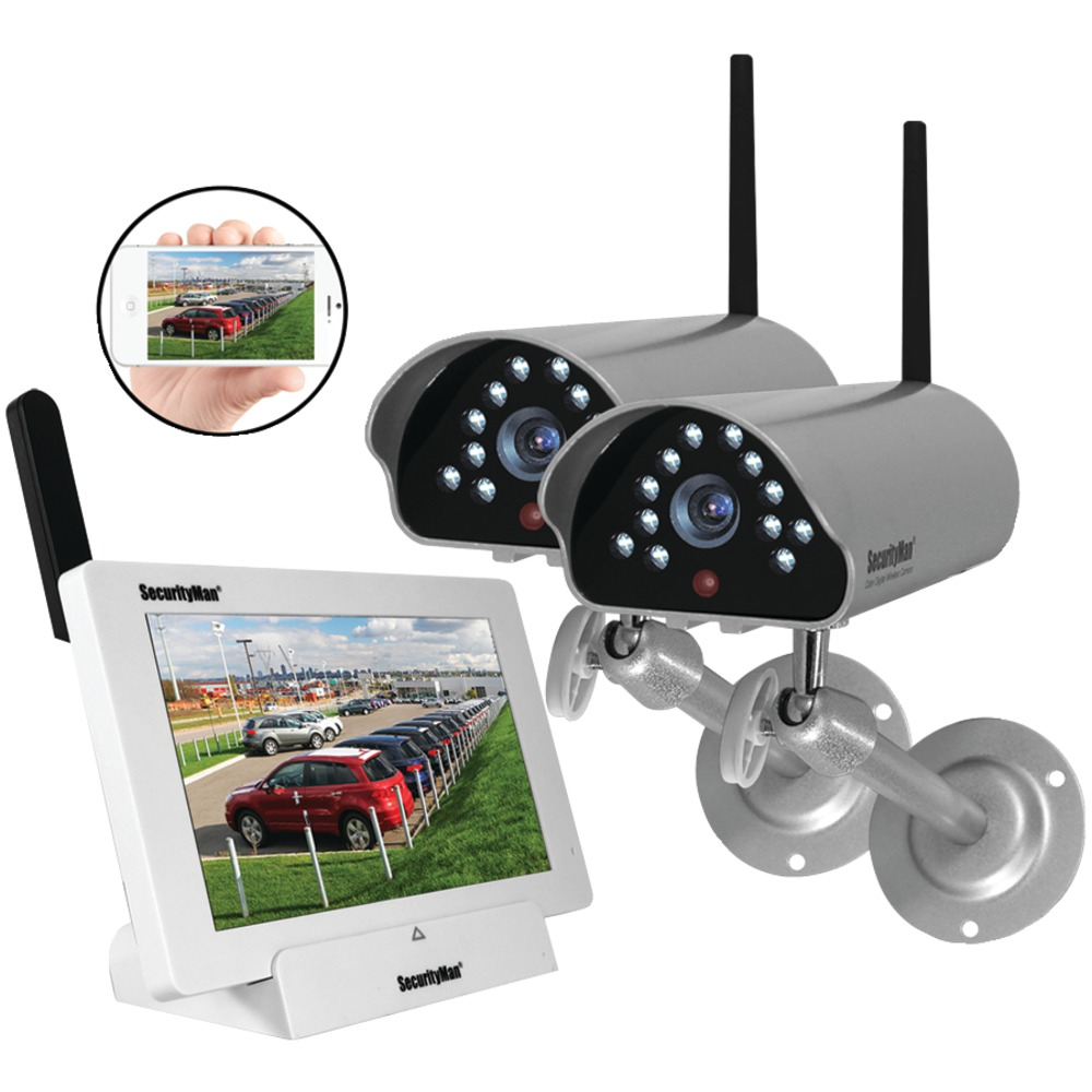 SECURITYMAN DIGILCDNDVR2 | Indoor-Outdoor iSecurity ...