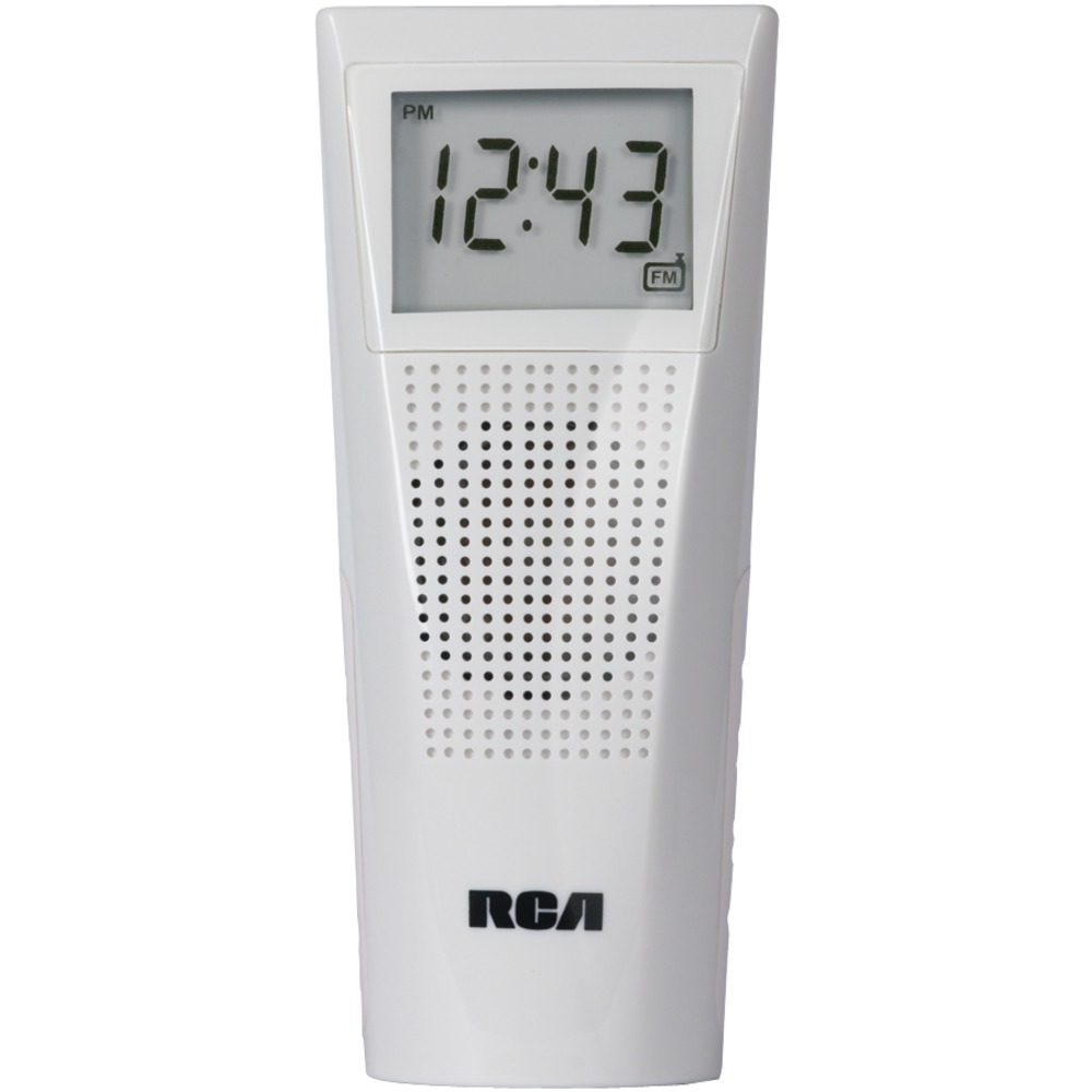 RCA BRC11 | Bathroom Clock Radio