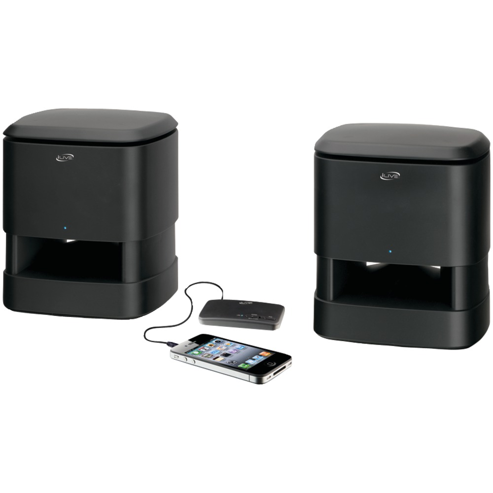 ilive isa33b wireless speaker system. Black Bedroom Furniture Sets. Home Design Ideas