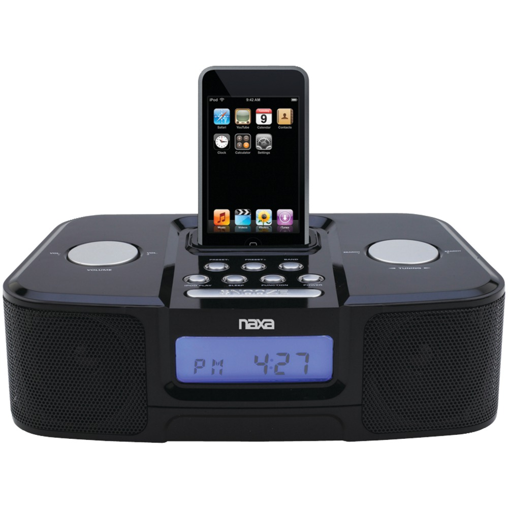 best iphone alarm clock naxa ni3103a digital alarm clock radio with iphone r 13604