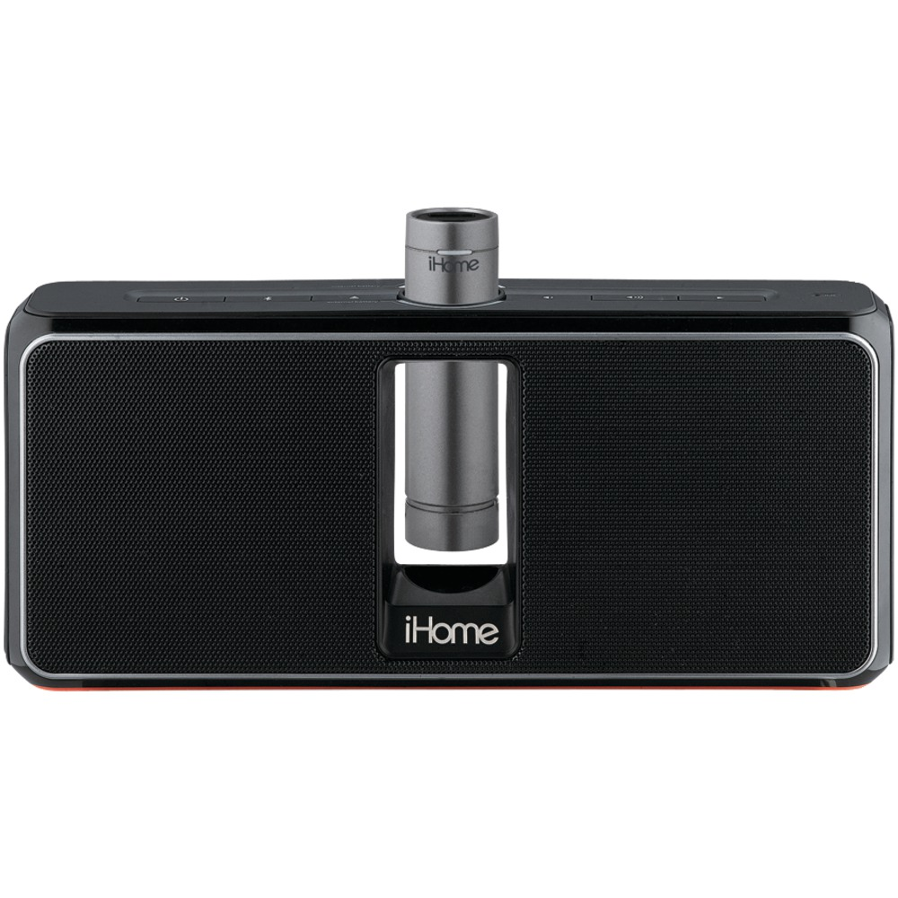 Ihome Bluetooth Portable Speaker: Portable Rechargeable Bluetooth(R) Stereo Speaker System With Speakerphone NFC