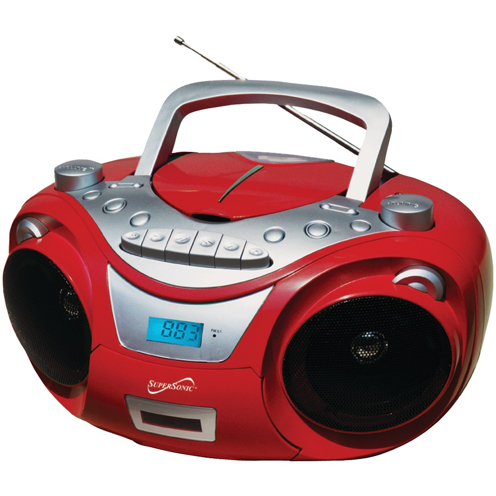 Portable MP3 & CD Player With