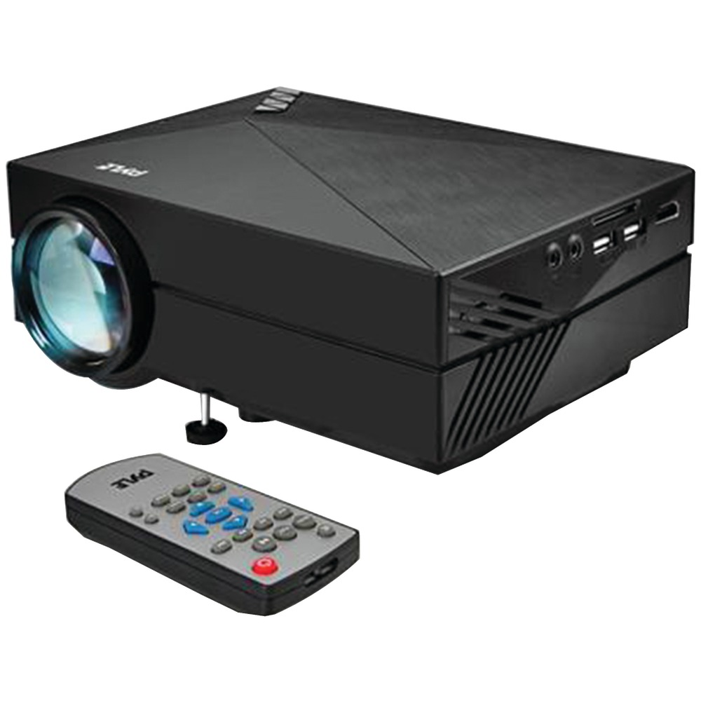 Pyle home prjg82 1080p hd compact digital multimedia for Best compact projector