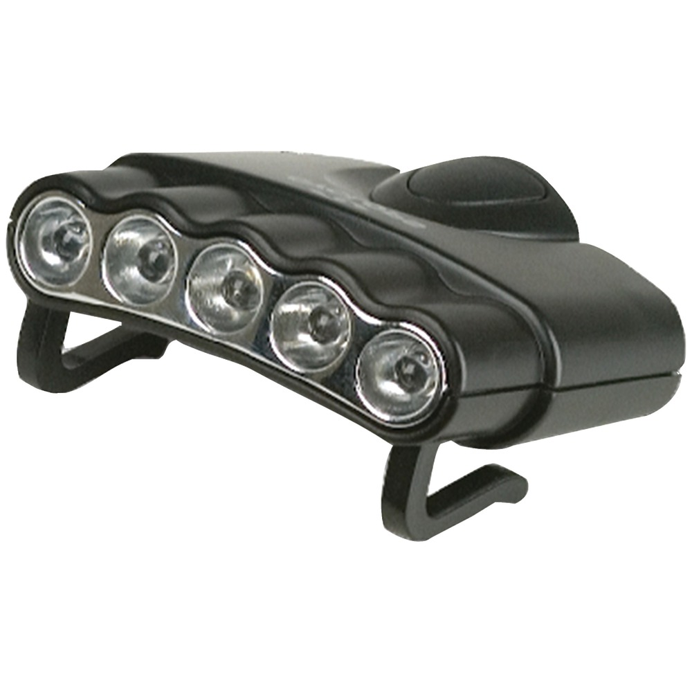 Cyclops Cyc Hc5 W Orion 5 Hat Clip Light With 5 Clear