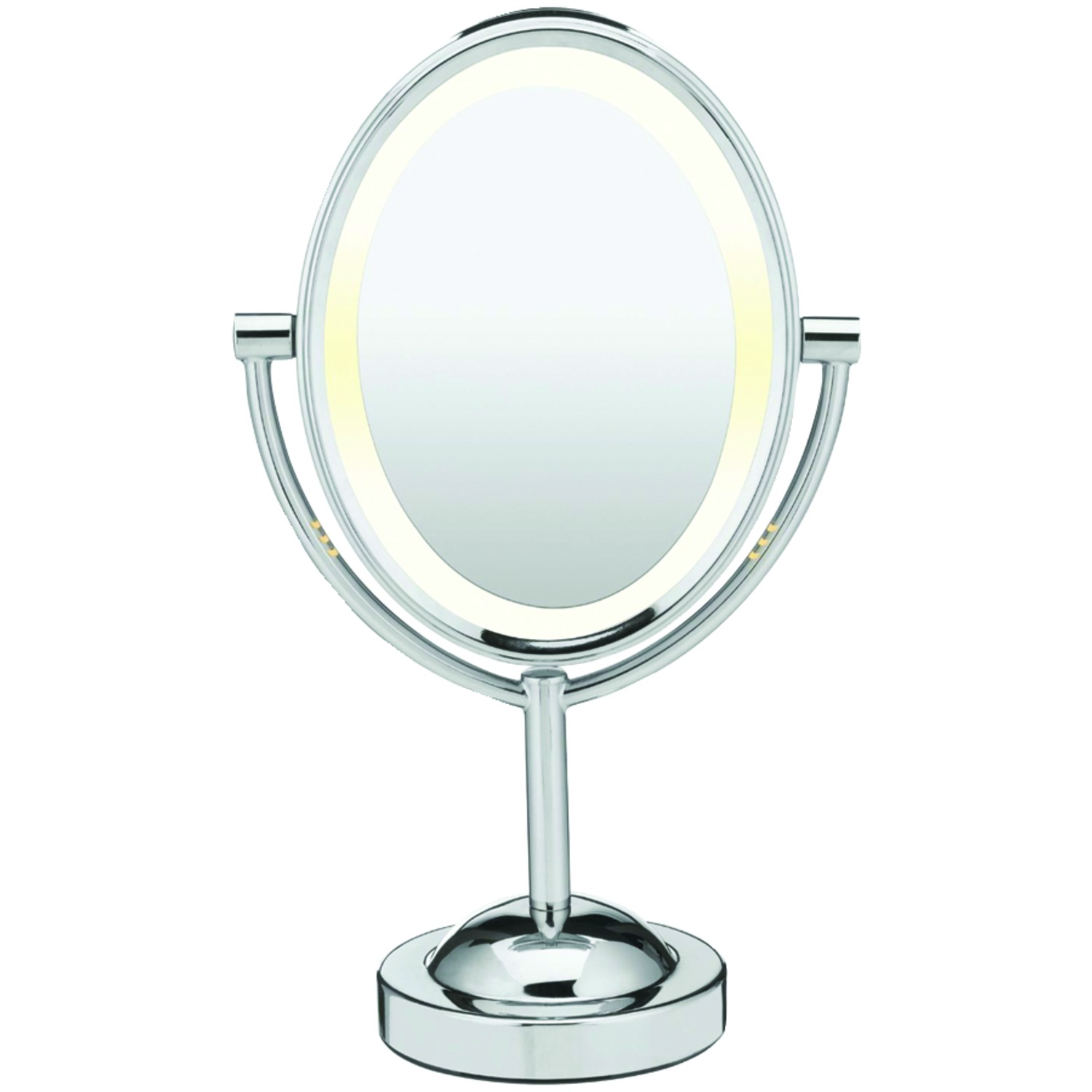 Conair Be151t Reflections Double Sided Lighted Oval Mirror