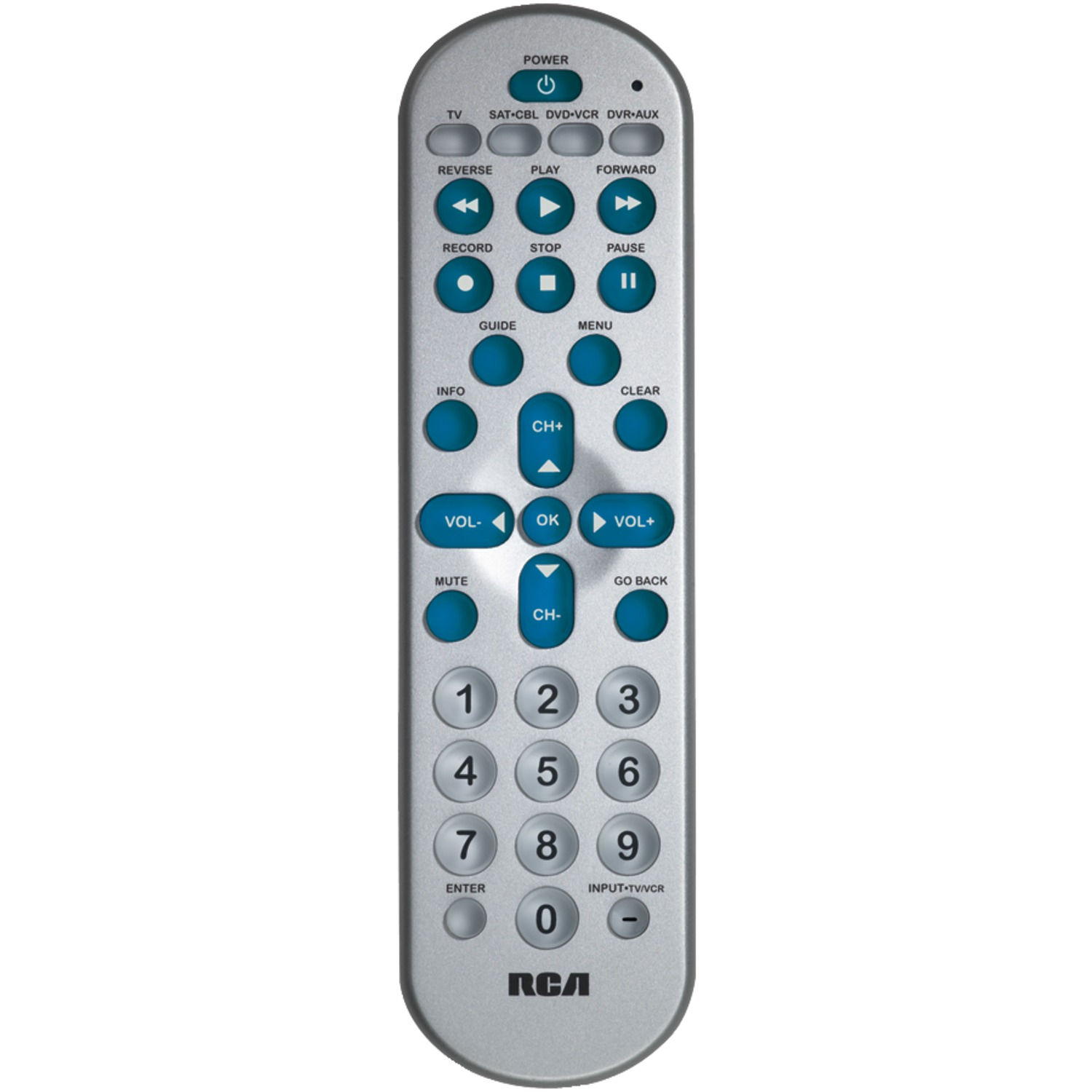 The Sharper Image Oversized Universal Remote Control Big Universal