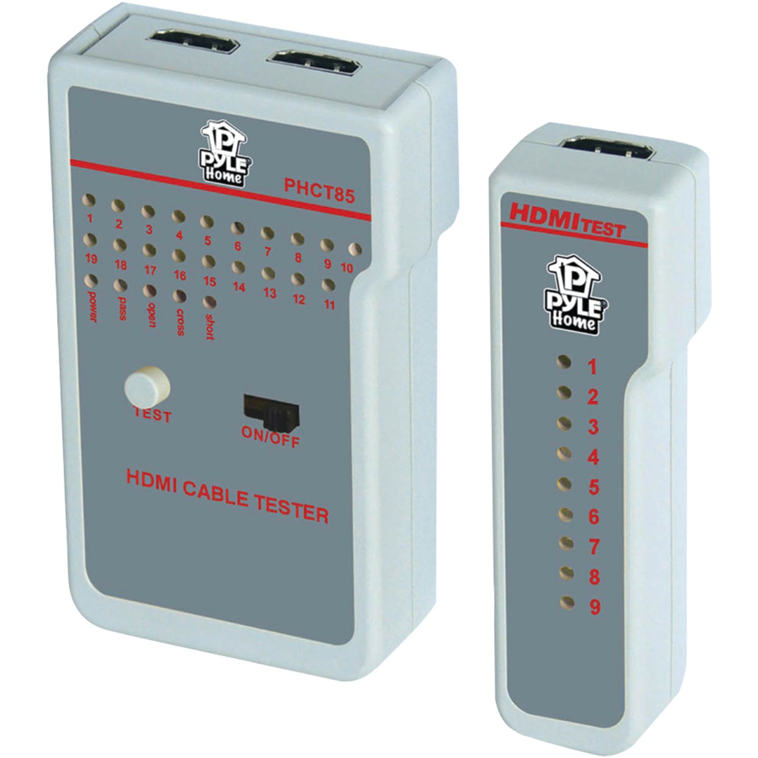 Hdmi Cable Tester : Pyle phct hdmi r hd cable tester