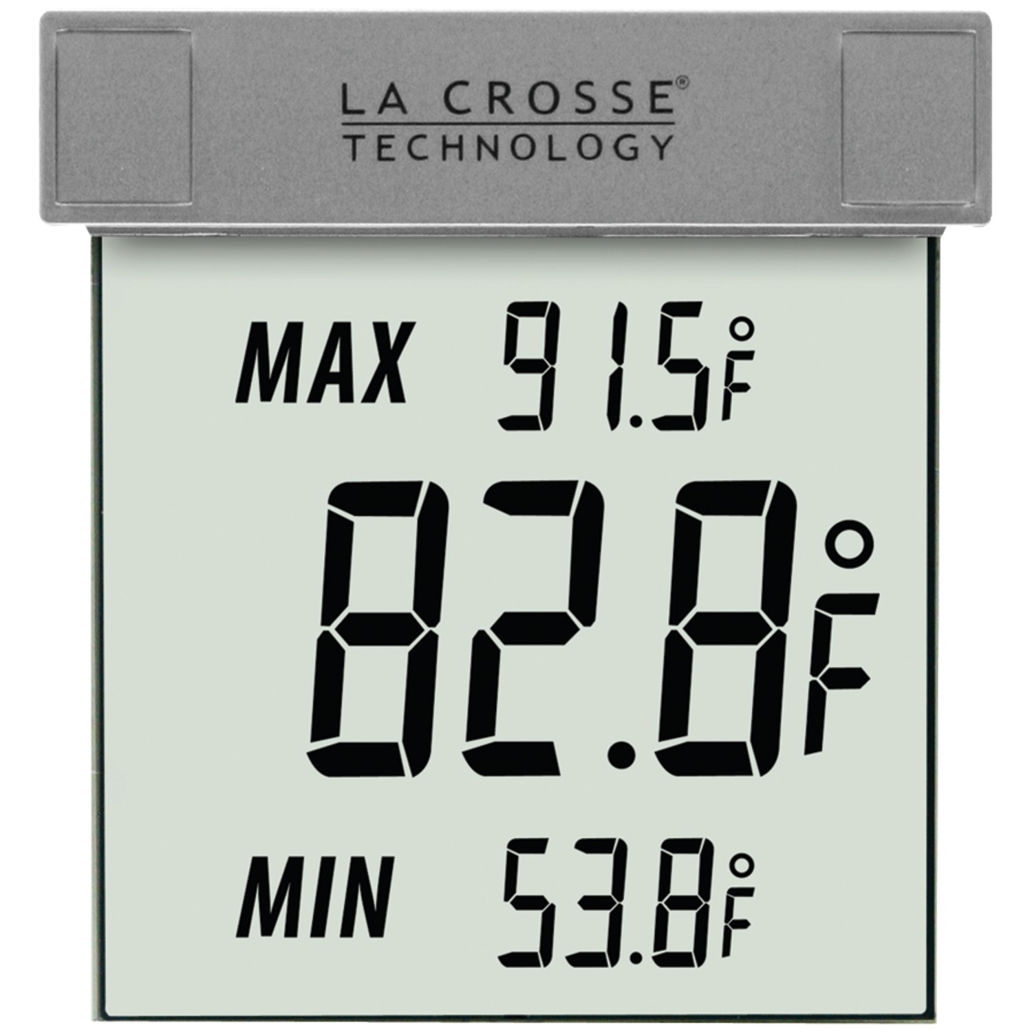 la crosse technology ws 1025 outdoor window thermometer. Black Bedroom Furniture Sets. Home Design Ideas