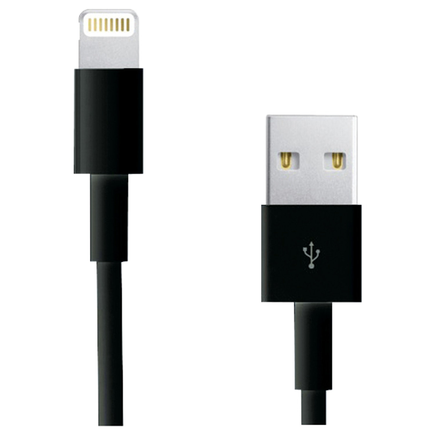 Rca Ah750br Lightning Tm To Usb Cable 3ft Black