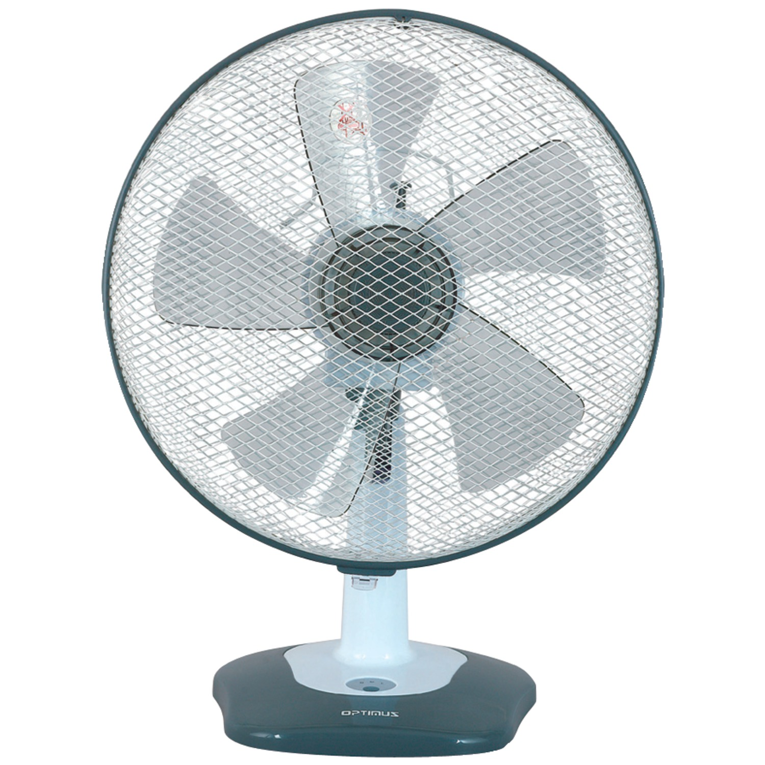 Table Fan Switches : Optimus f  inch oscillating table fan with soft