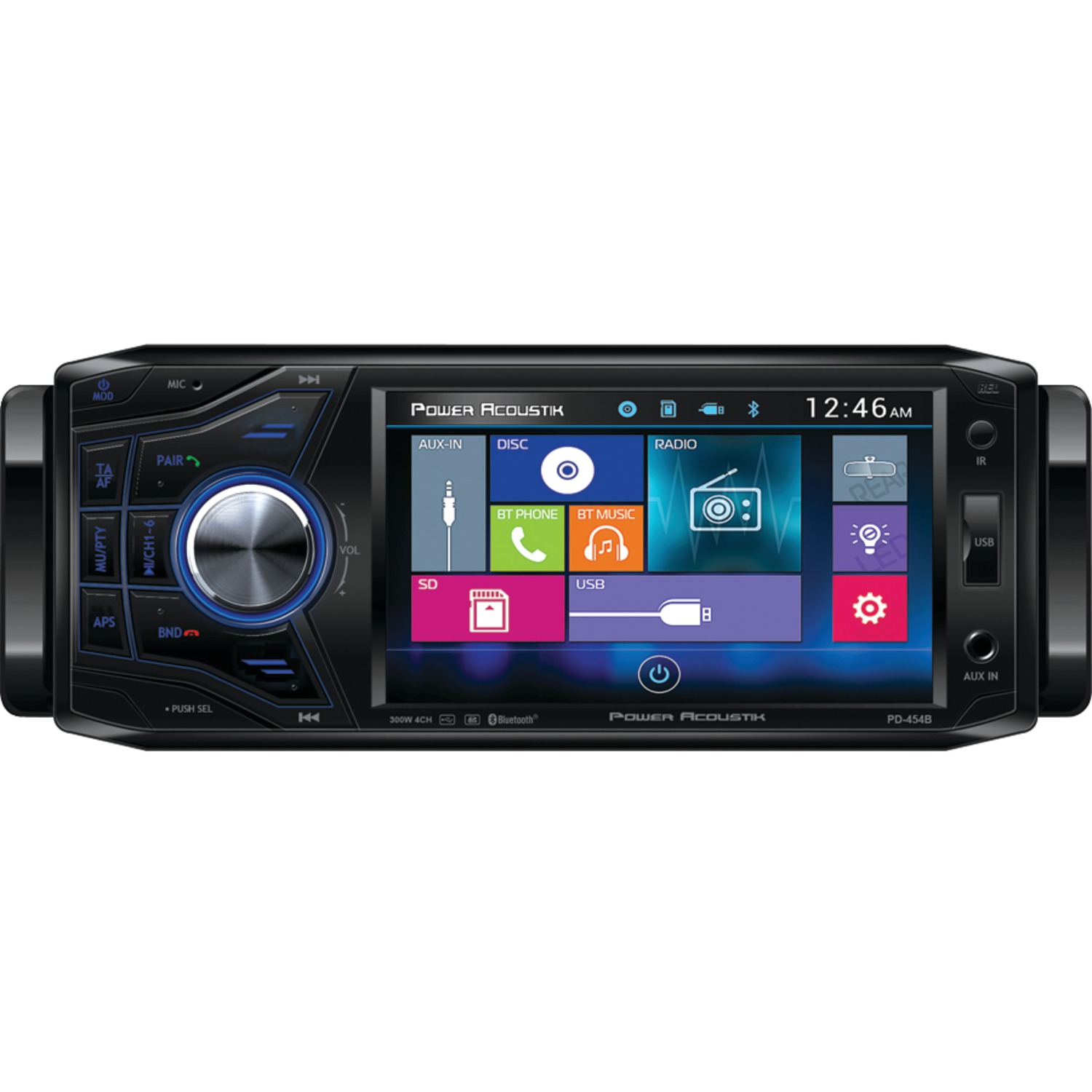 Best Single Din Touch Screen Car Stereo With Bluetooth