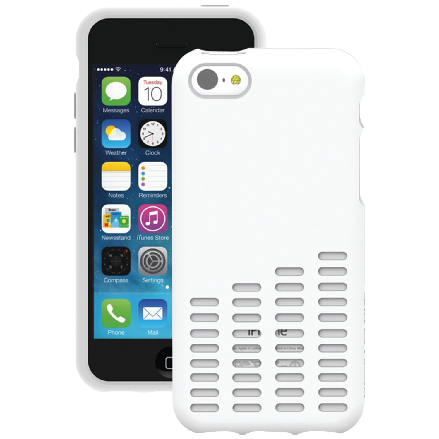 BODY GLOVE 9417205 | iPhone(R) 5c Amp Case (White)