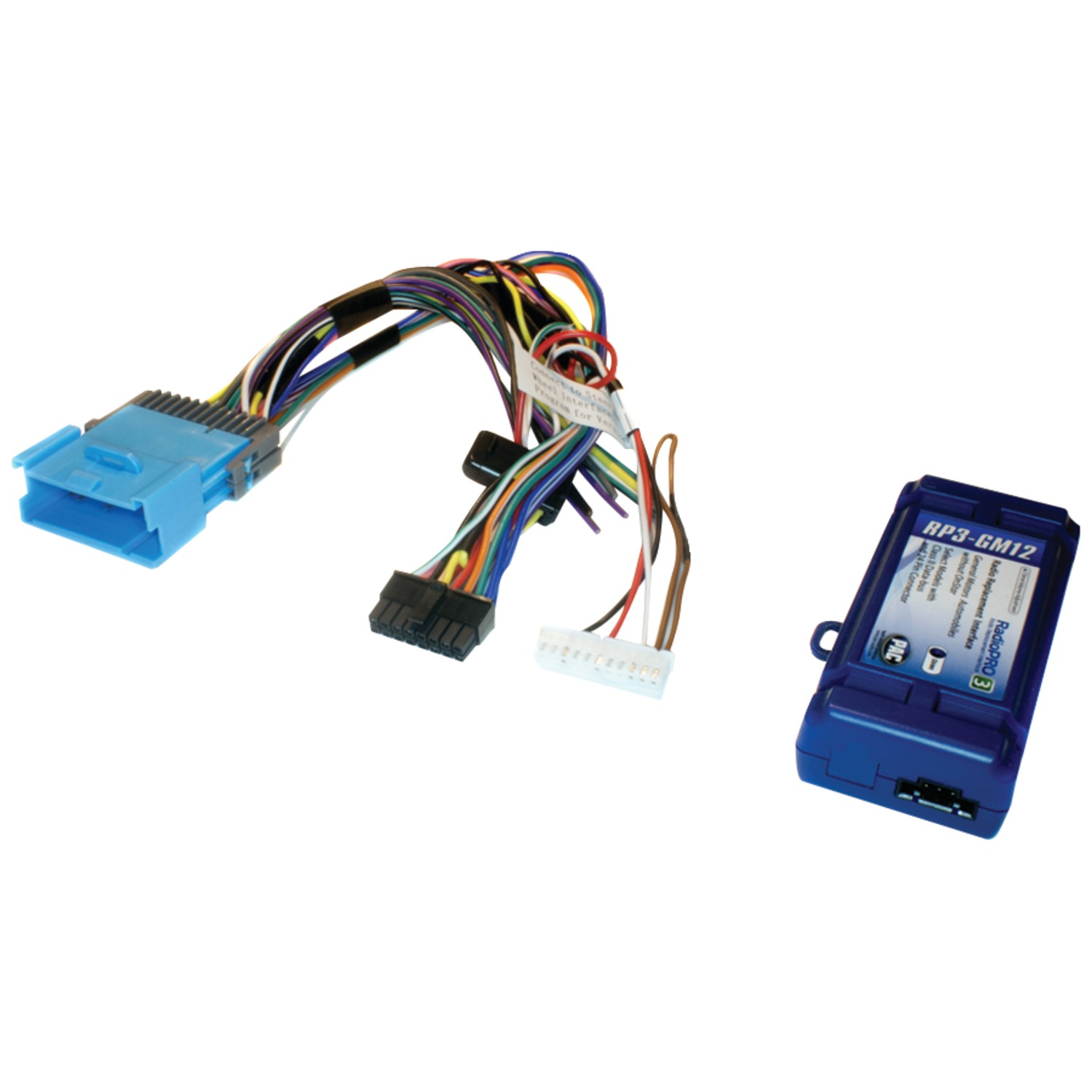 Pac Rp3 Gm12 Radio Replacement Interface For Select Gmr Vehicles 24 Pin Wire Harness Class