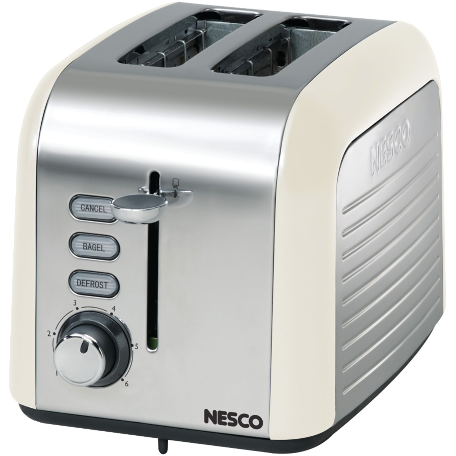 2 Slice Toaster Cream Chrome