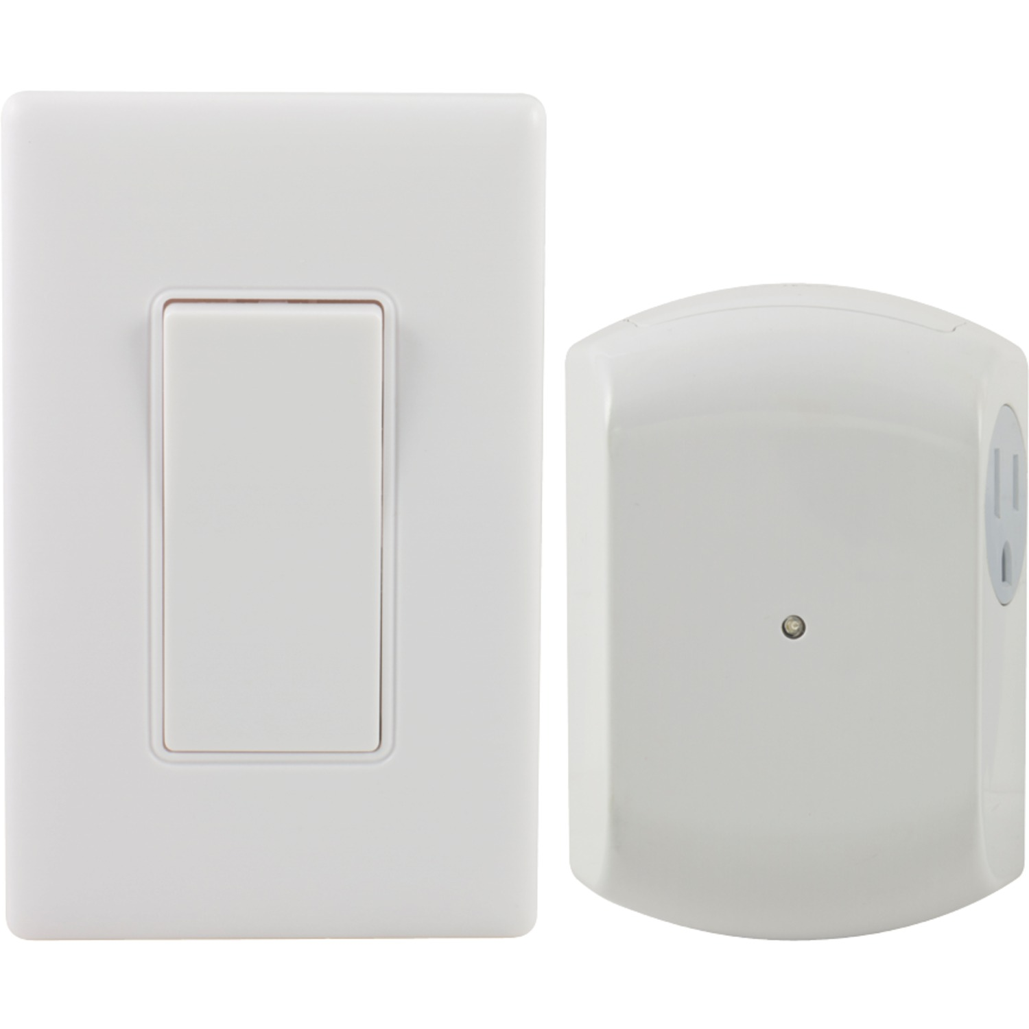 ge 18279 wall switch light control remote with 1 outlet receiver. Black Bedroom Furniture Sets. Home Design Ideas