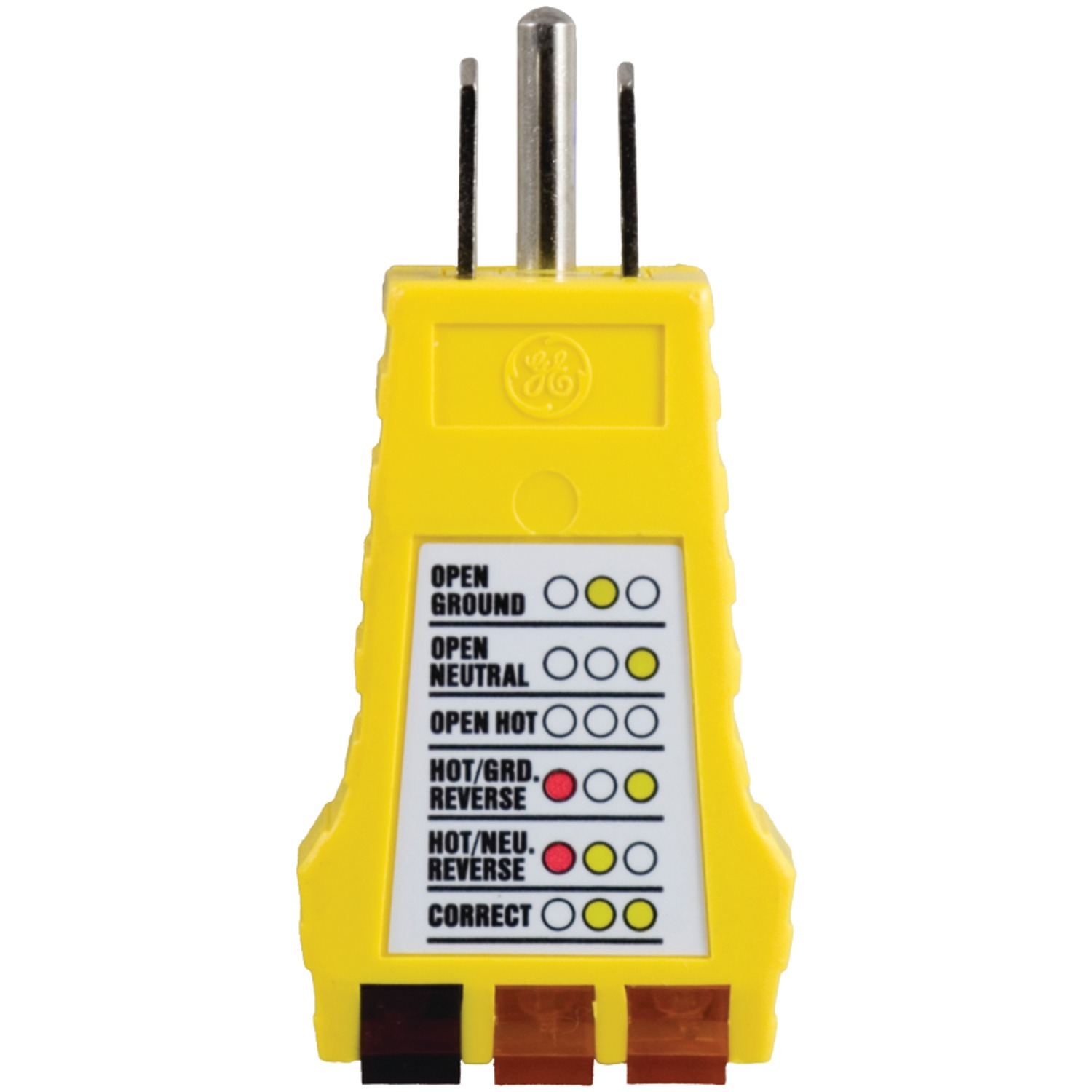 OUTLET GROUND TESTER SOUTHWIRE 40012S  3-WIRE 120 VAC RECEPTACLE FREE S/&H