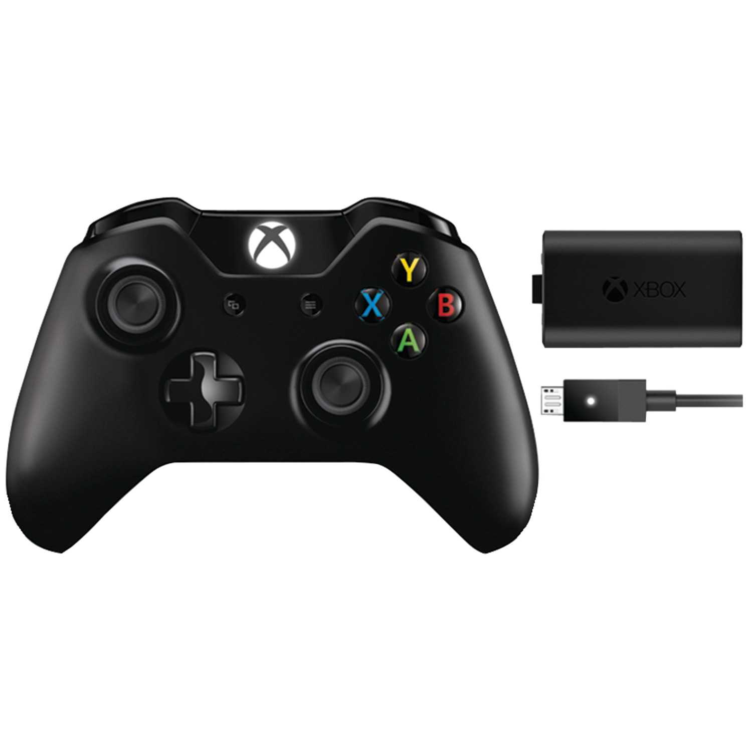 Xbox One Controller + Play and Charge Kit - Microsoft ...