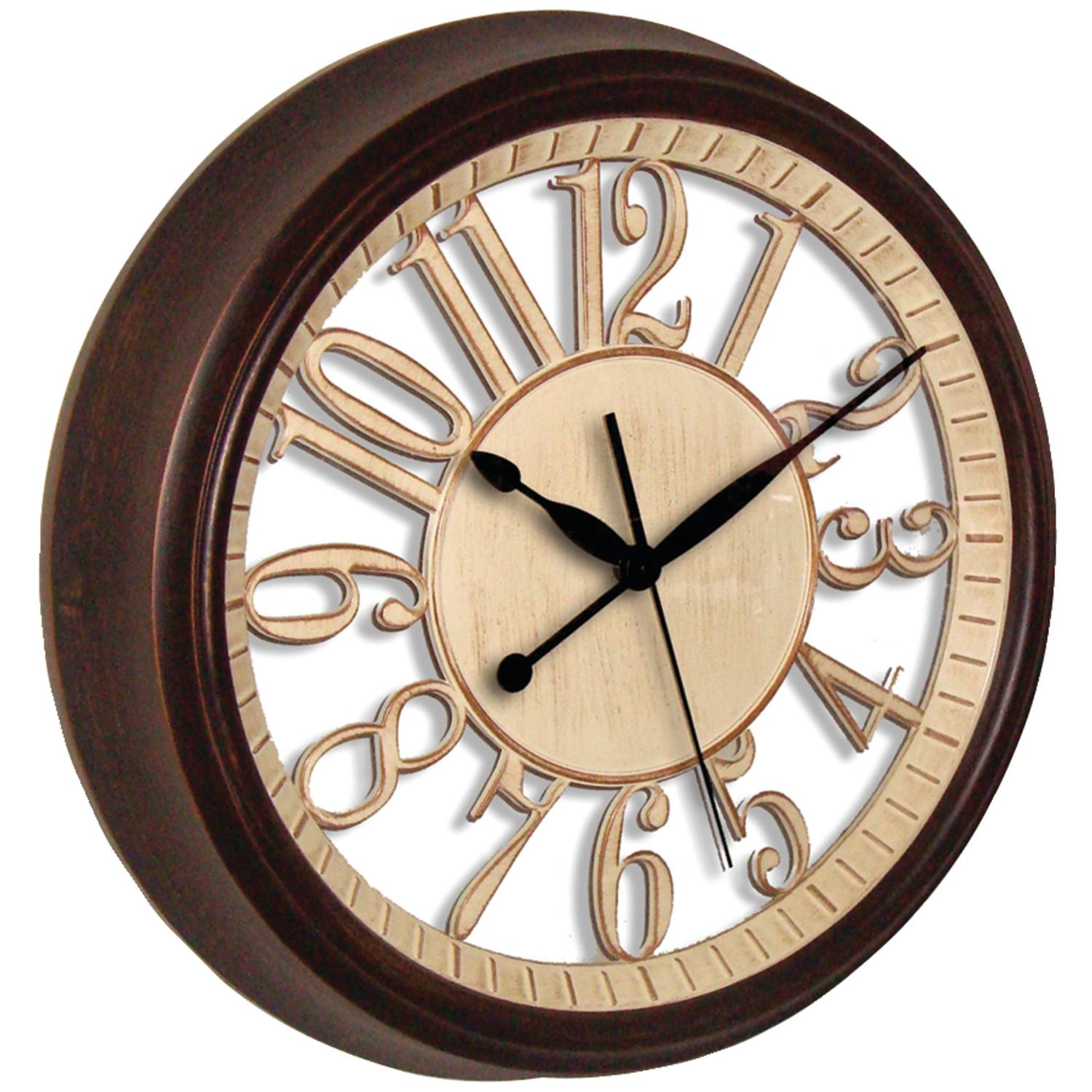 Westclox 32220 15 Quot Round Wall Clock With See Through Back