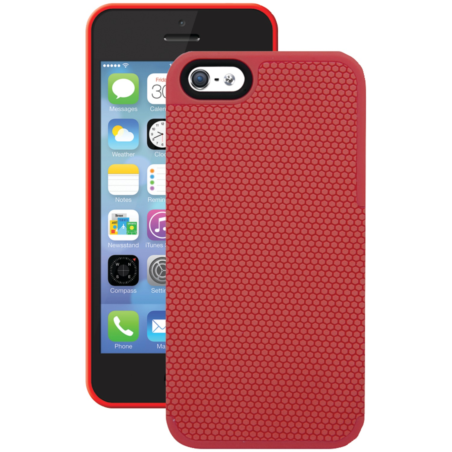 iphone 5s red isound isound 5327 iphone r 5 5s honeycomb 5421