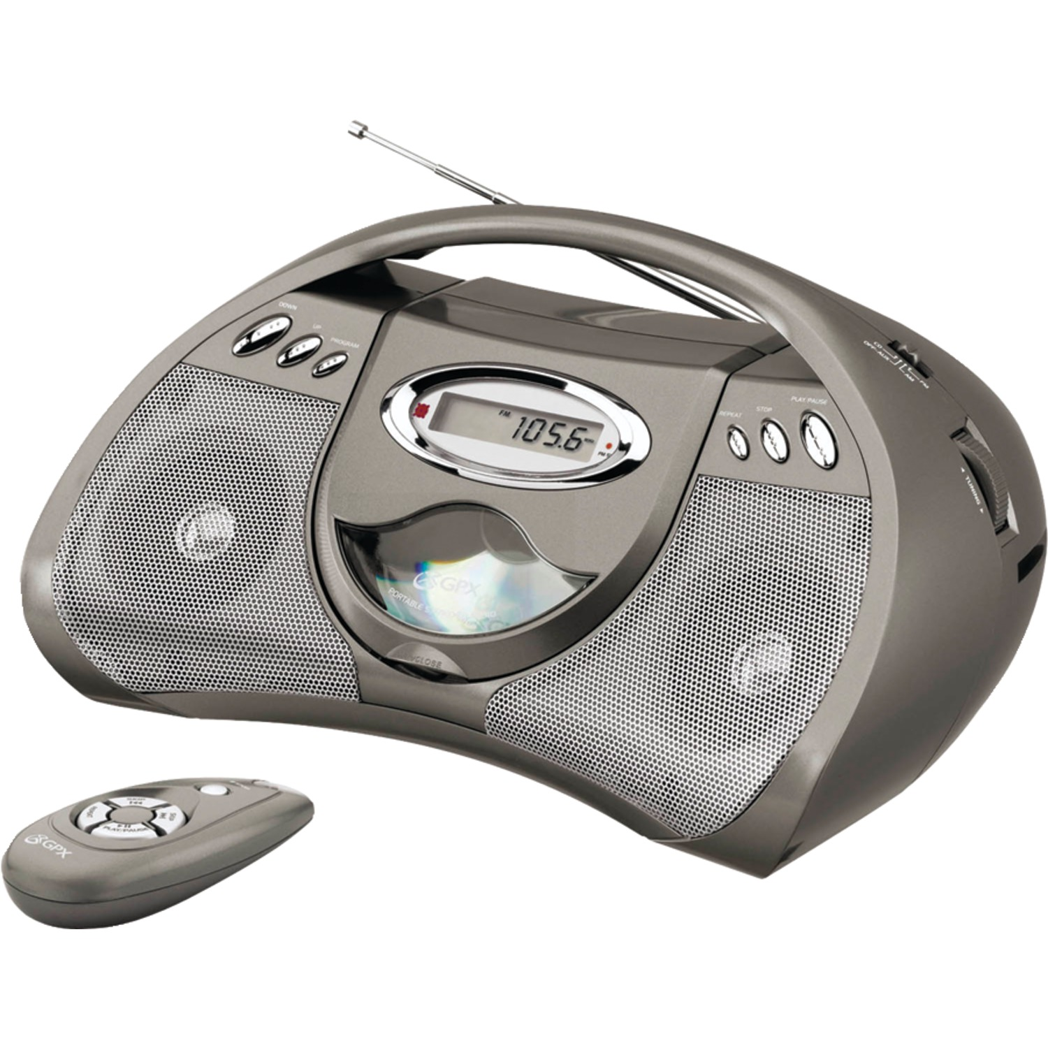 Gpx bcd2306dp portable cd player with am fm radio - Mobile porta cd ...