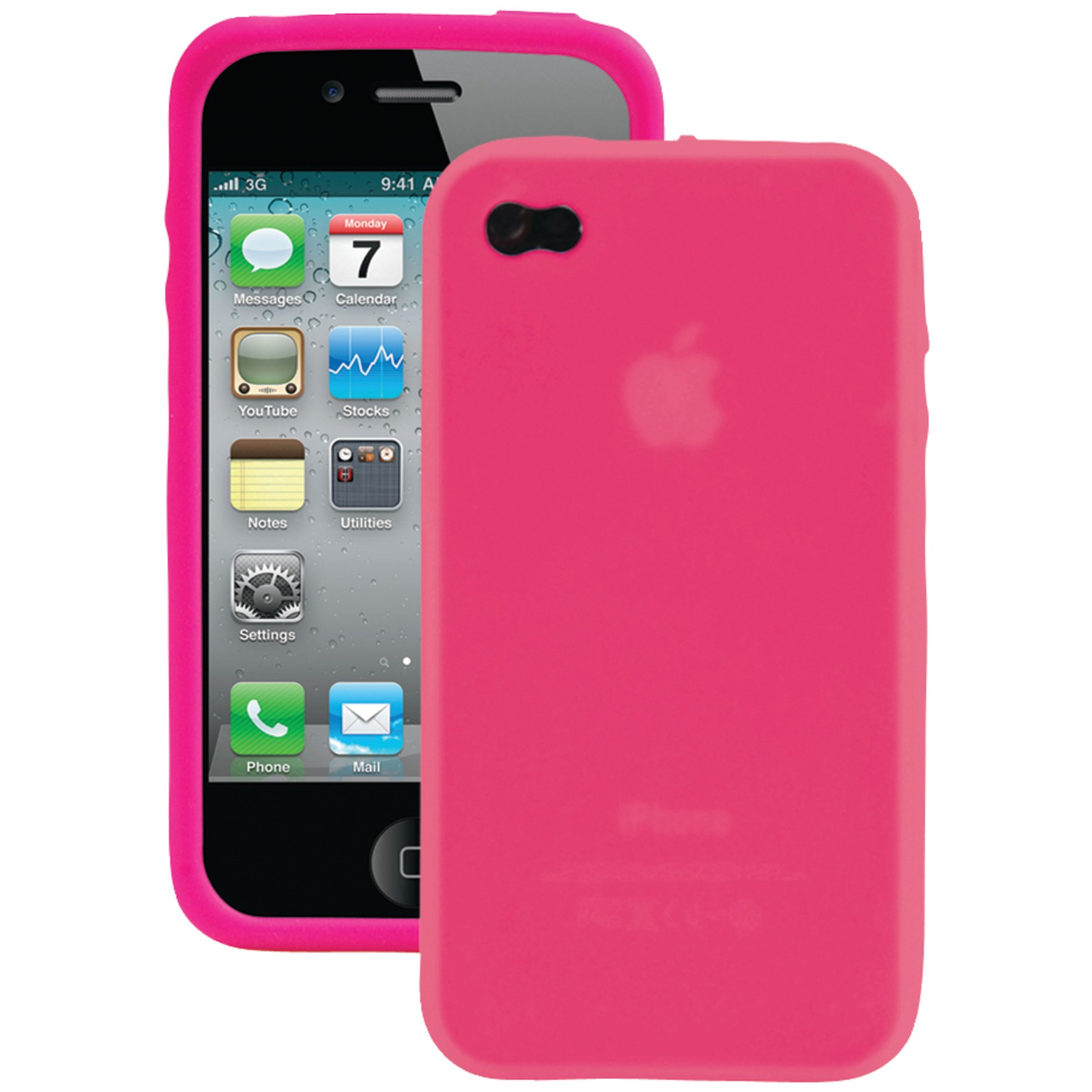 iphone sc cases iessentials iph4 sc pk iphone r 4 4s silicone skin 12266