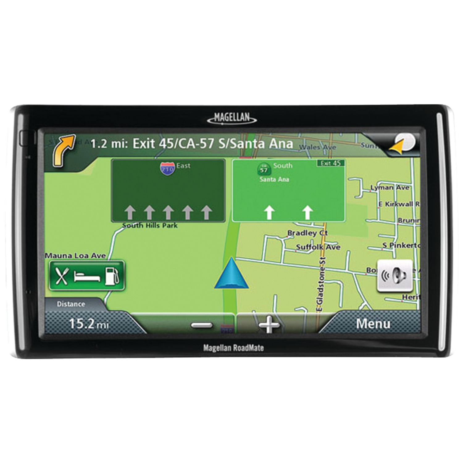 """Updates: RoadMate(R) 1700 7"""" GPS Device With"""