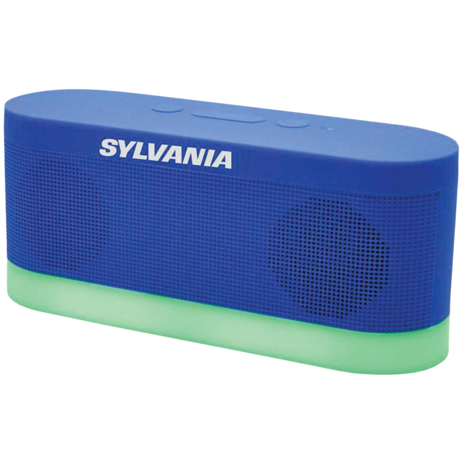 Sylvania Sp136 Blue Bluetooth R Moonlight Speaker Bue