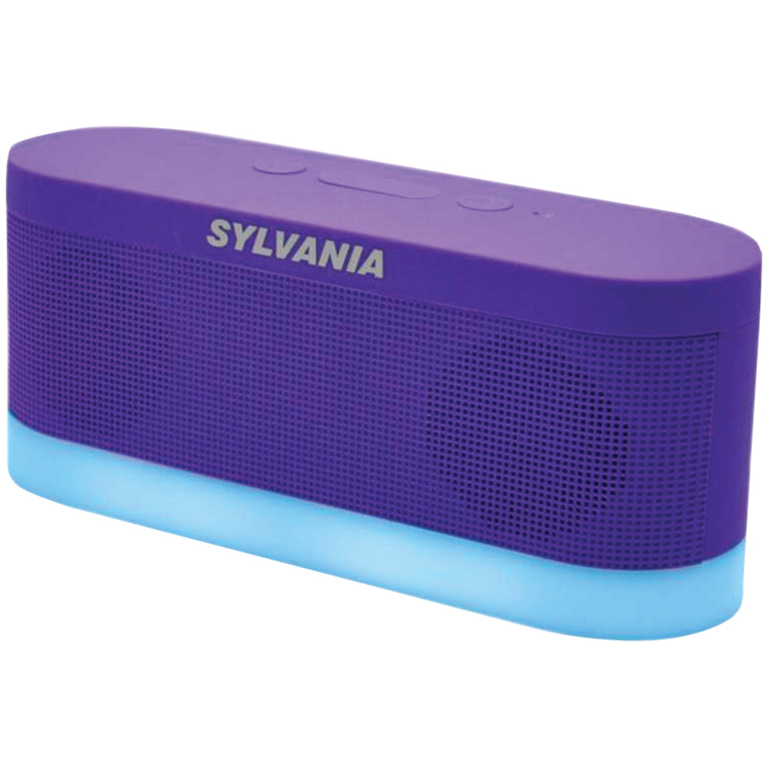 Sylvania Sp136 Purple Bluetooth R Moonlight Speaker