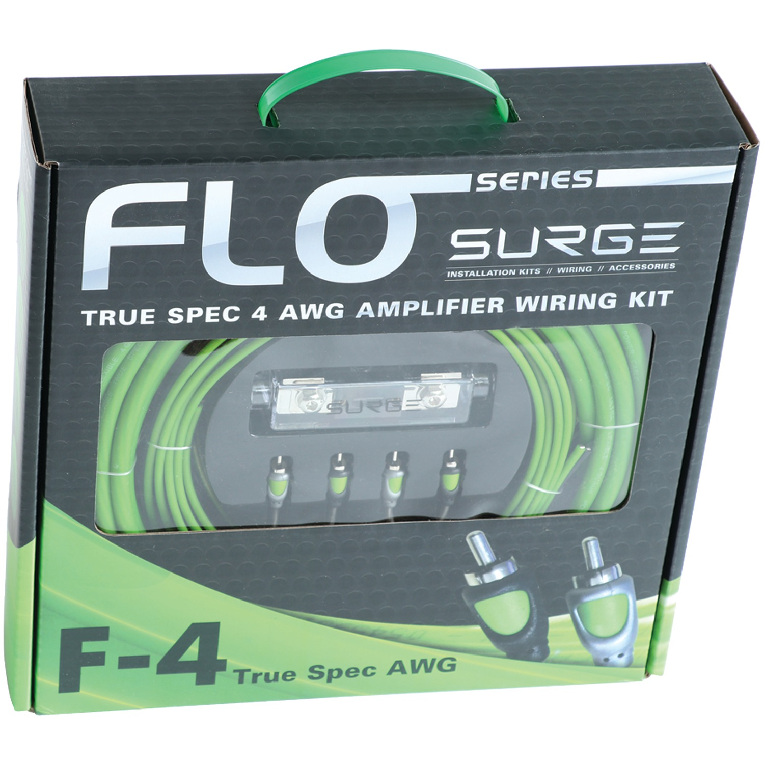 Surge F 4 Flo Series Amp Installation Kit Gauge 2000 Watts Amplifier Wiring