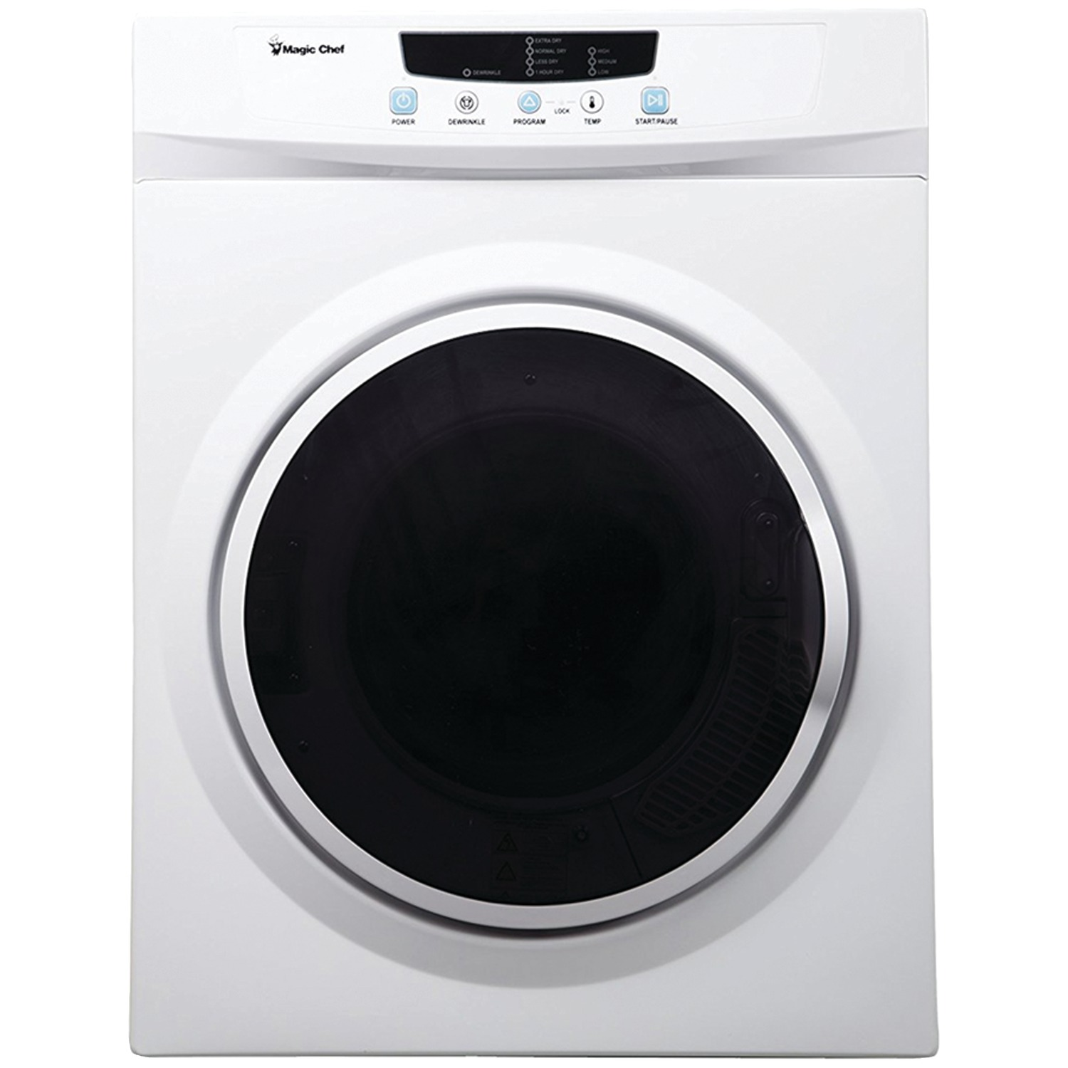 Magic Chef Mcsdry35w 3 5 Cubic Ft Electric Dryer