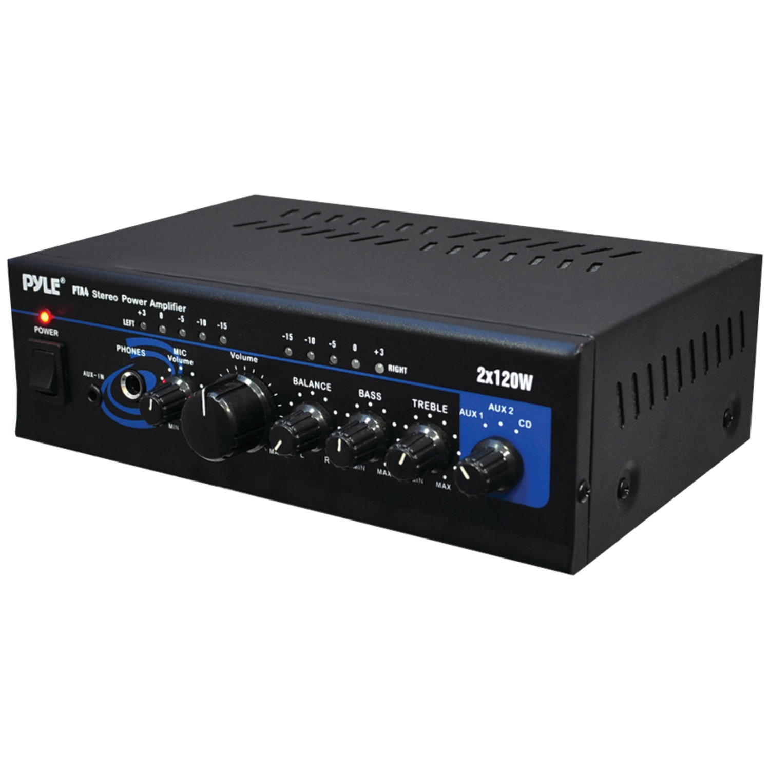 Pyle home pta w mini stereo power amplifier