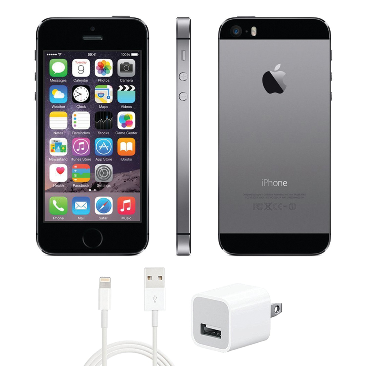 apple iph5sgr16v refurbished 16gb iphone r 5s for verizon. Black Bedroom Furniture Sets. Home Design Ideas