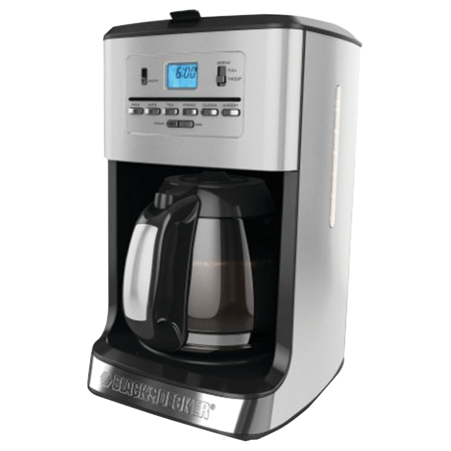 Coffee Maker Black And Decker 12 Cup : BLACK & DECKER CM3005S 12-Cup Tea & Coffee Maker