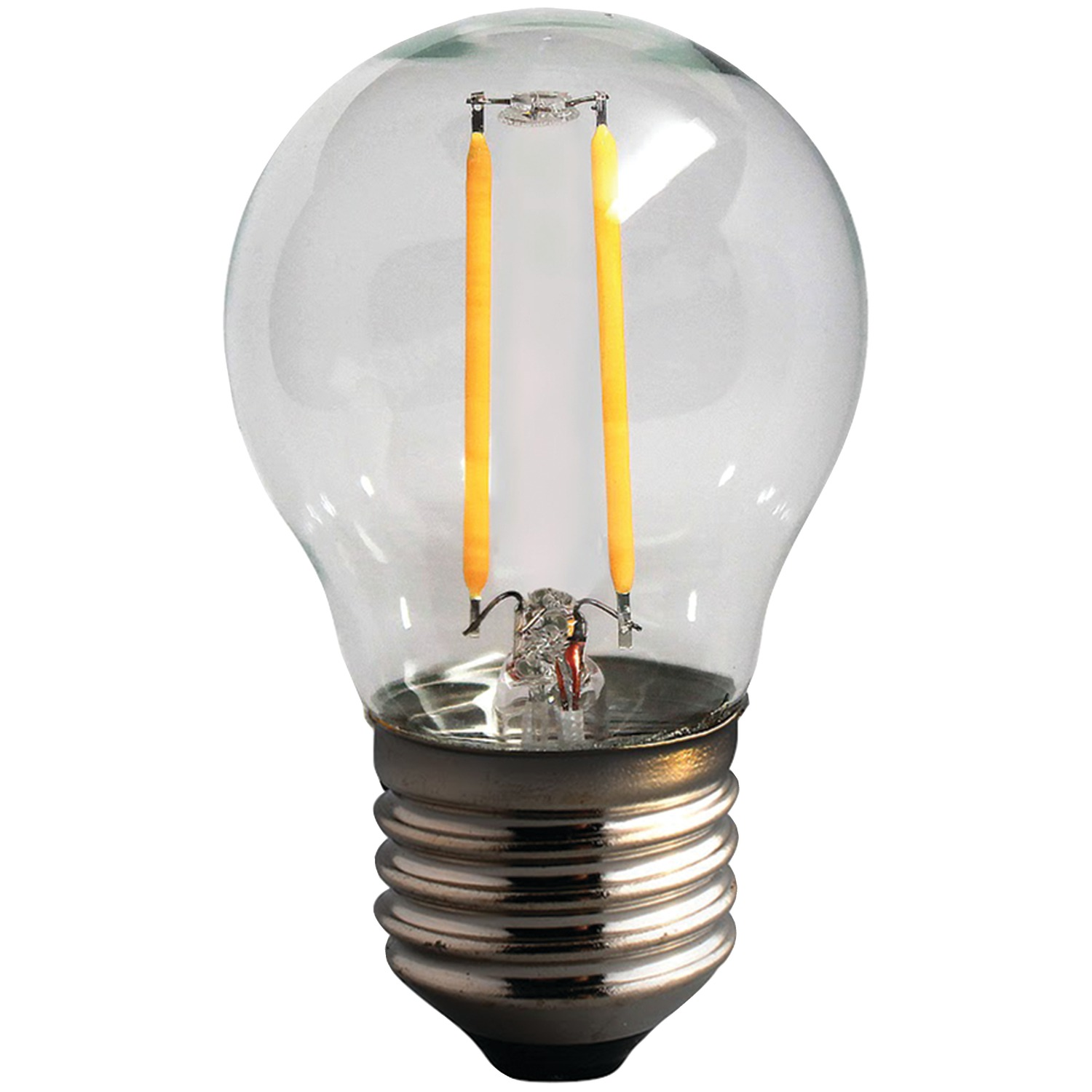 Sleek Lighting 18128 2 Watt Dimmable Led Filament Globe Light Bulb G16