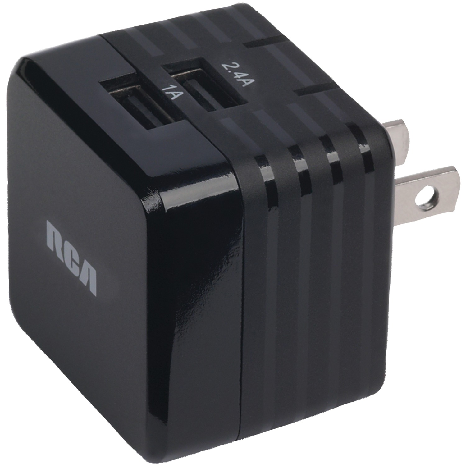 rca pch234bkf 3 4 amp cube usb charger. Black Bedroom Furniture Sets. Home Design Ideas