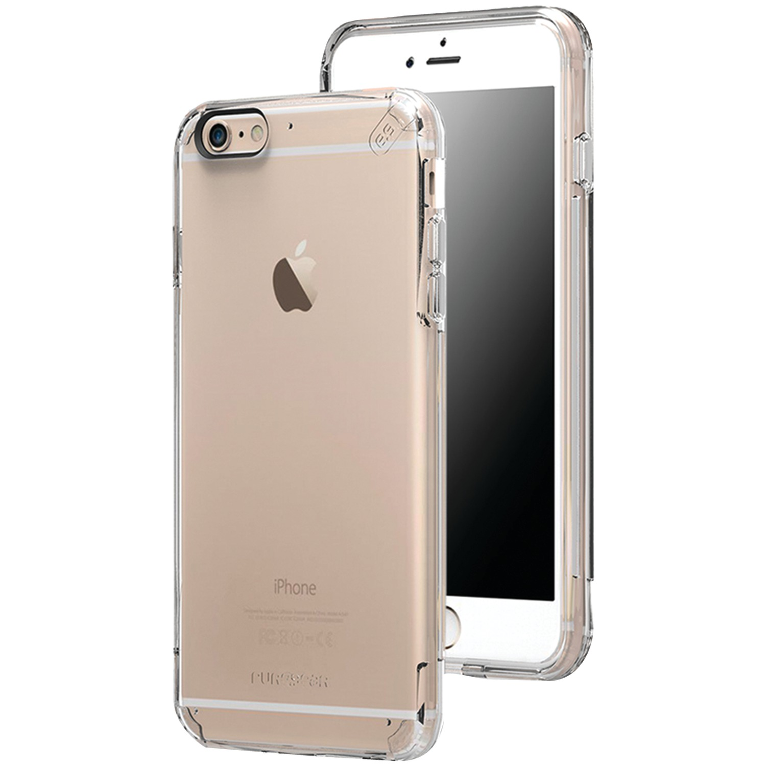 clear iphone cases puregear 11065vrp iphone r 6 plus 6s plus slim shell 10414