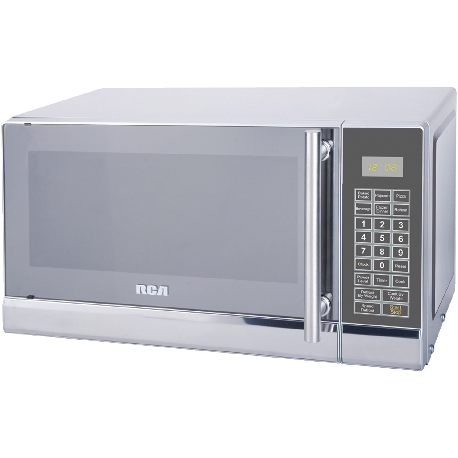 Rca Rmw741 7 Cubic Ft Stainless Steel Microwave