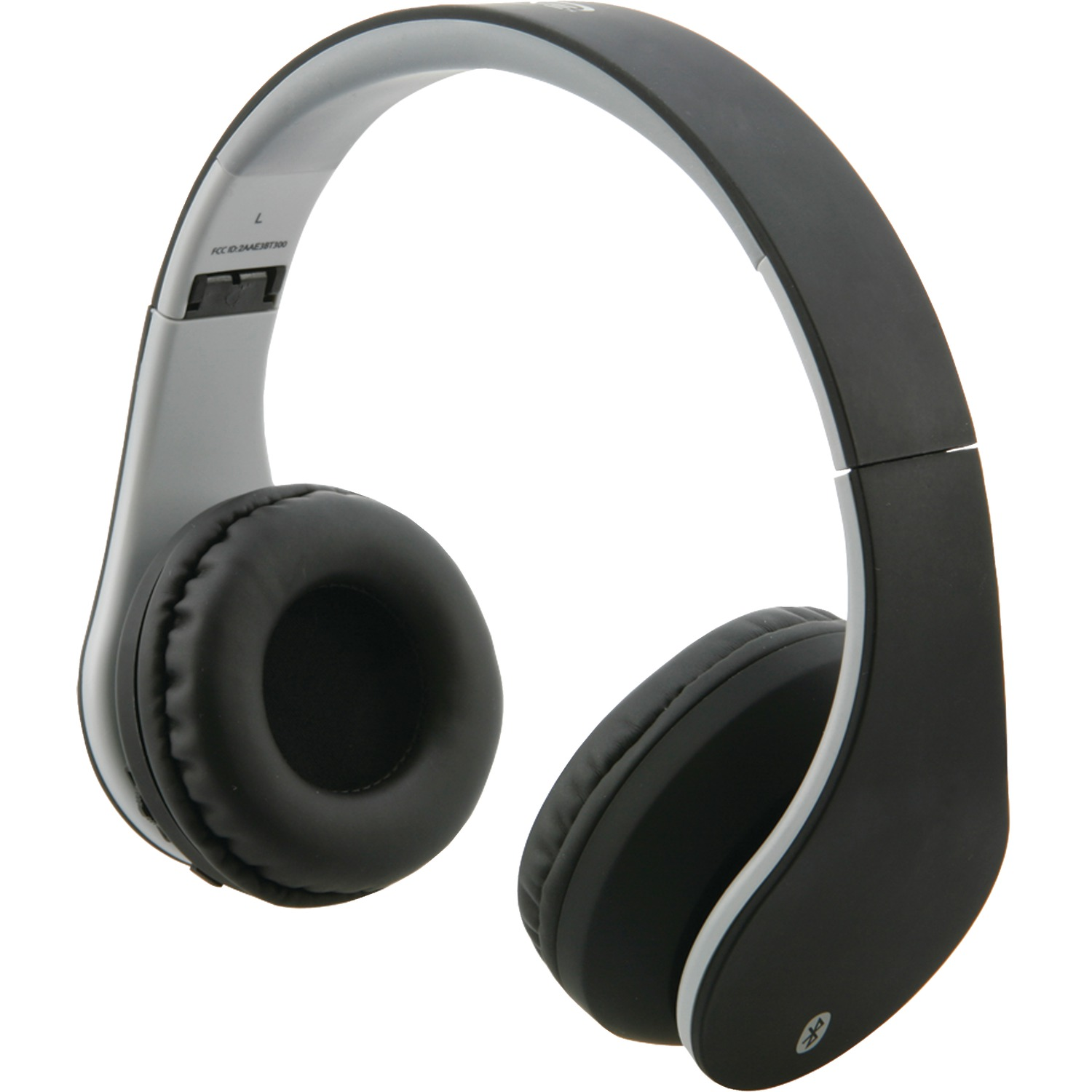 ilive iahb64mb bluetooth r headphones with auxiliary input matte black. Black Bedroom Furniture Sets. Home Design Ideas