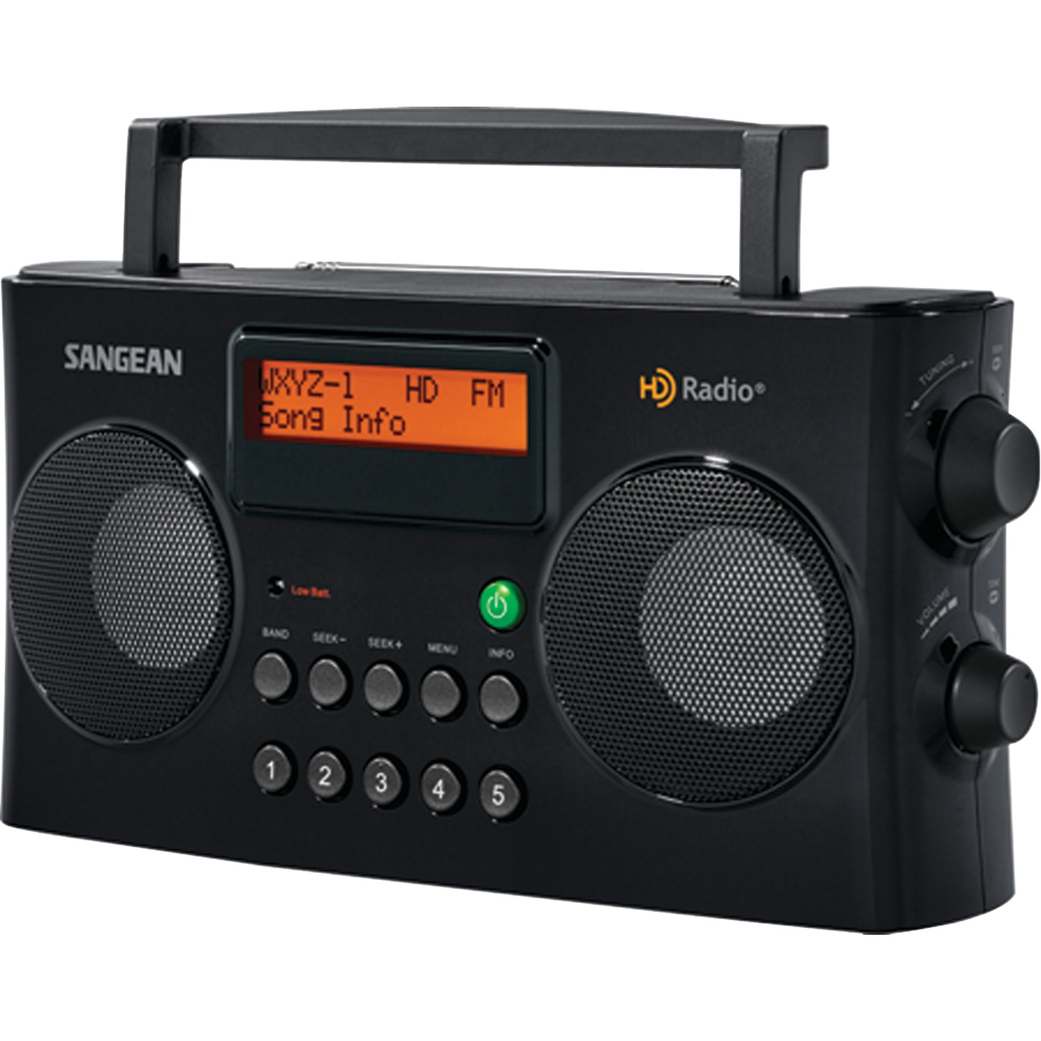 sangean hdr 16 am fm hd portable radio. Black Bedroom Furniture Sets. Home Design Ideas