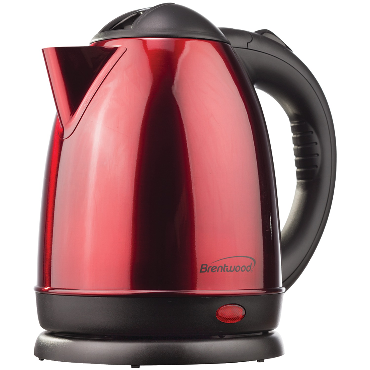 Best Cordless Electric Kettle ~ Brentwood kt liter red stainless steel electric