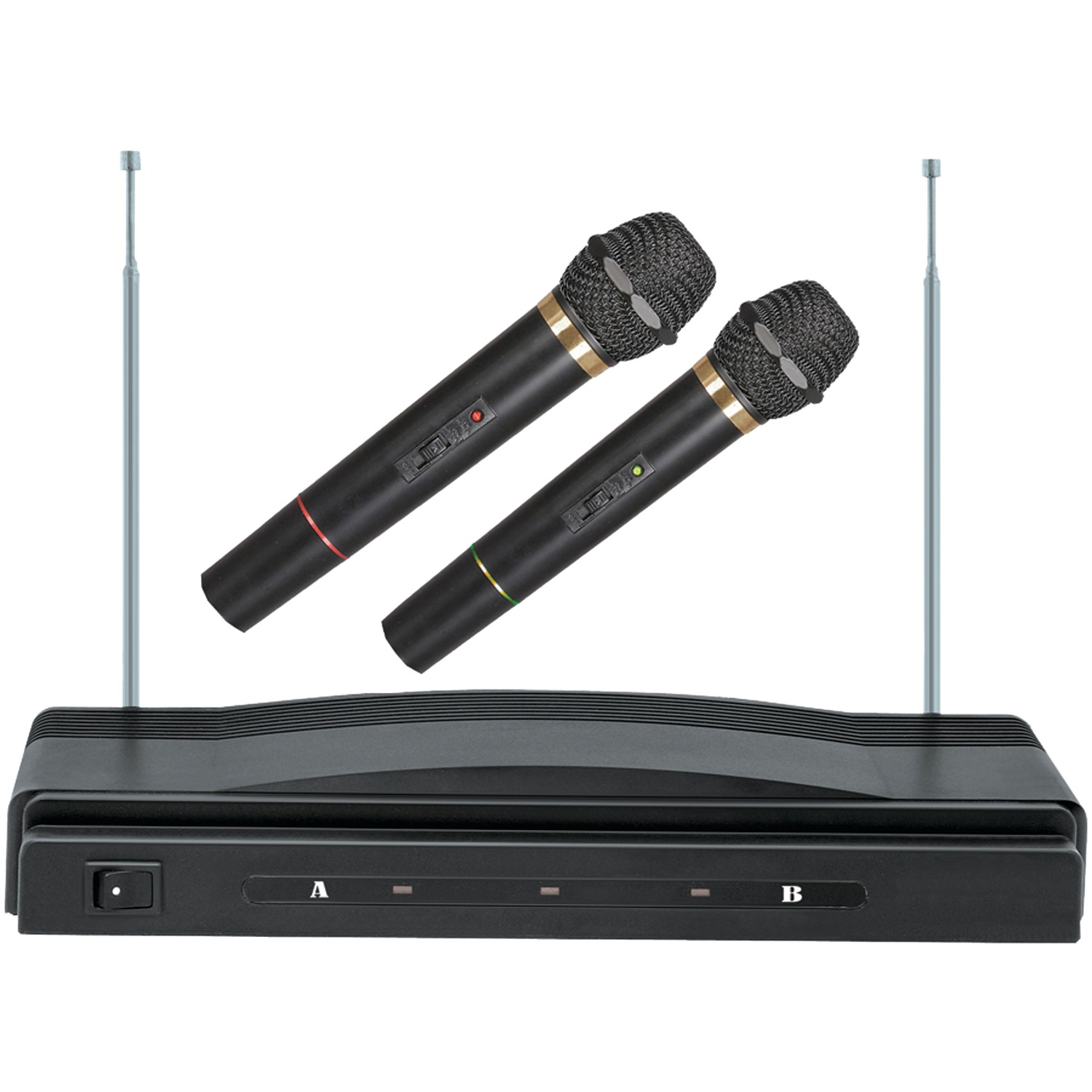 supersonic sc 900 professional dual wireless microphone system. Black Bedroom Furniture Sets. Home Design Ideas