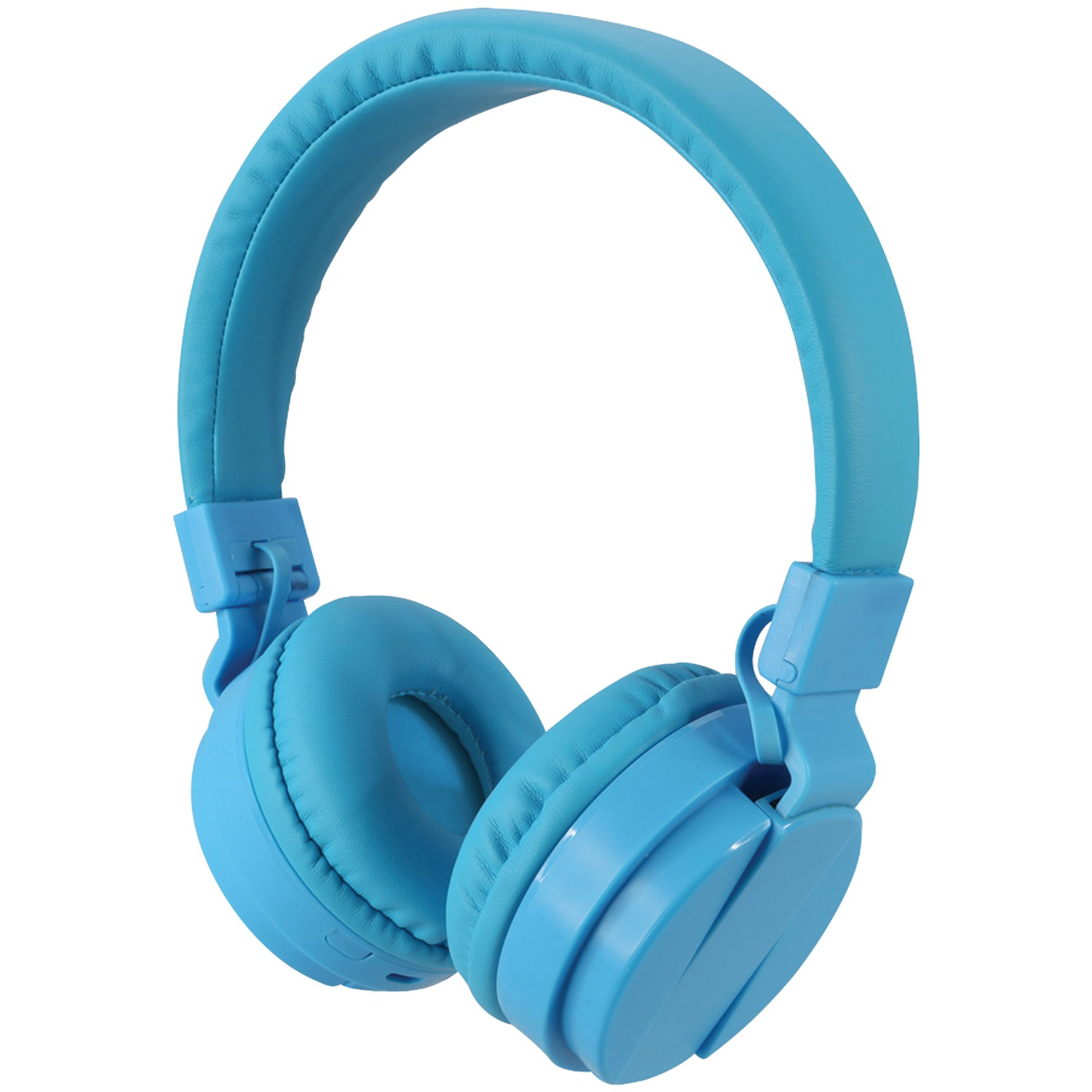 ilive iahb6bu bluetooth r wireless headphones with microphone blue. Black Bedroom Furniture Sets. Home Design Ideas