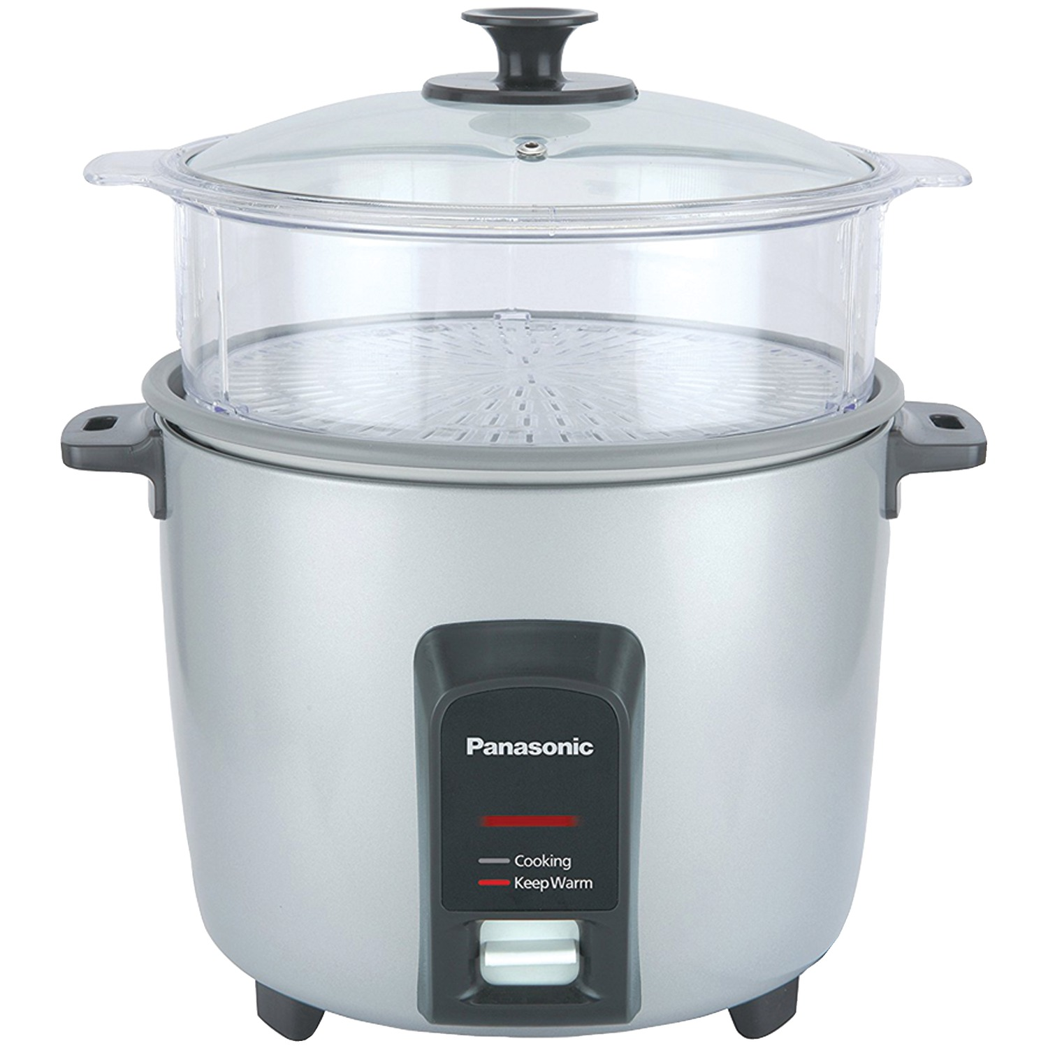 Automatic Rice Cooker ~ Panasonic sr y fgjl cup automatic rice cooker silver