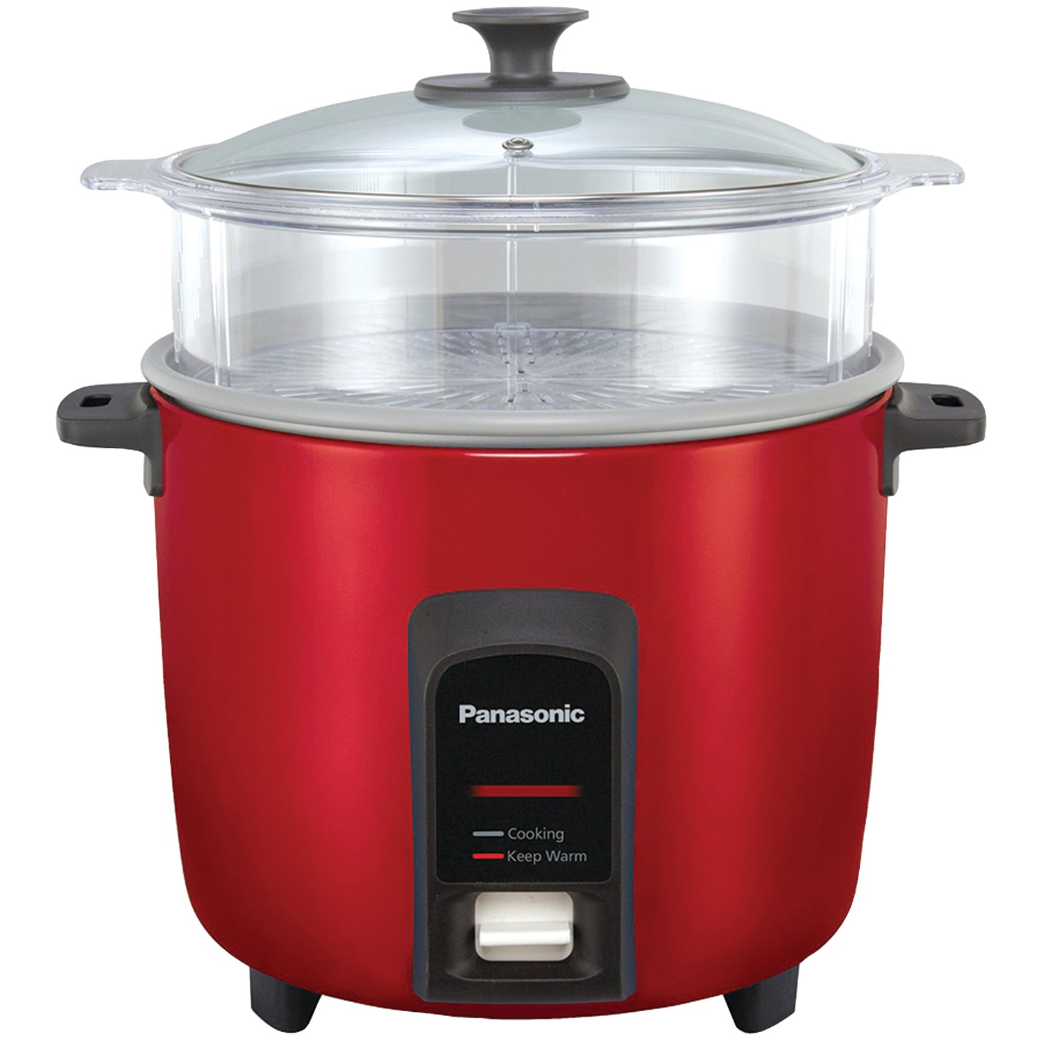 Automatic Rice Cooker ~ Panasonic sr y fgjr cup automatic rice cooker red