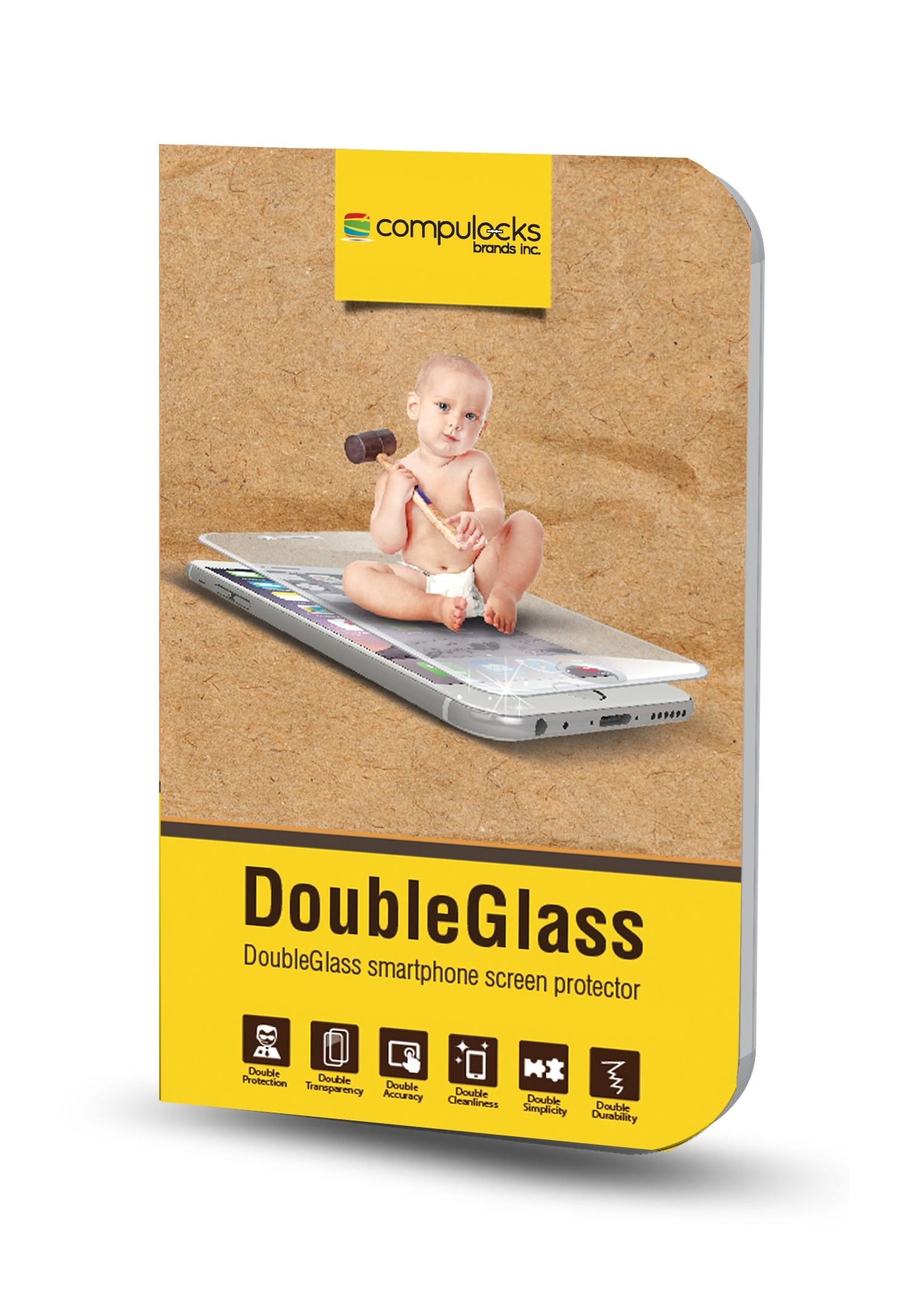 Compulocks dgsiph6p double glass protector iphone for Double glazing deals