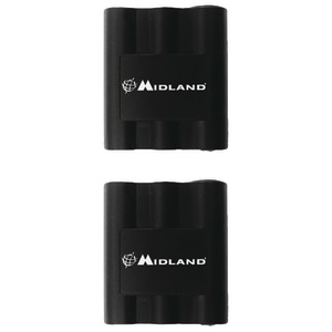 MIDLAND Rechargeable Batteries for LXT210 LXT310 LXT410 & GXT Series 2-Way Radios AVP7