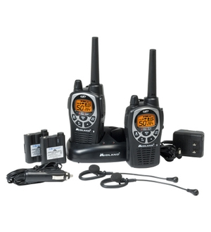 MIDLAND 36-Mile GMRS Radio Pair Pack with Batteries & Drop-in Charger GXT1000VP4