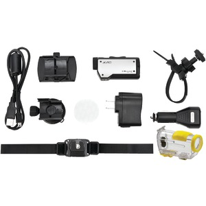 HD Action Camera with Accessories Factory Refurbished